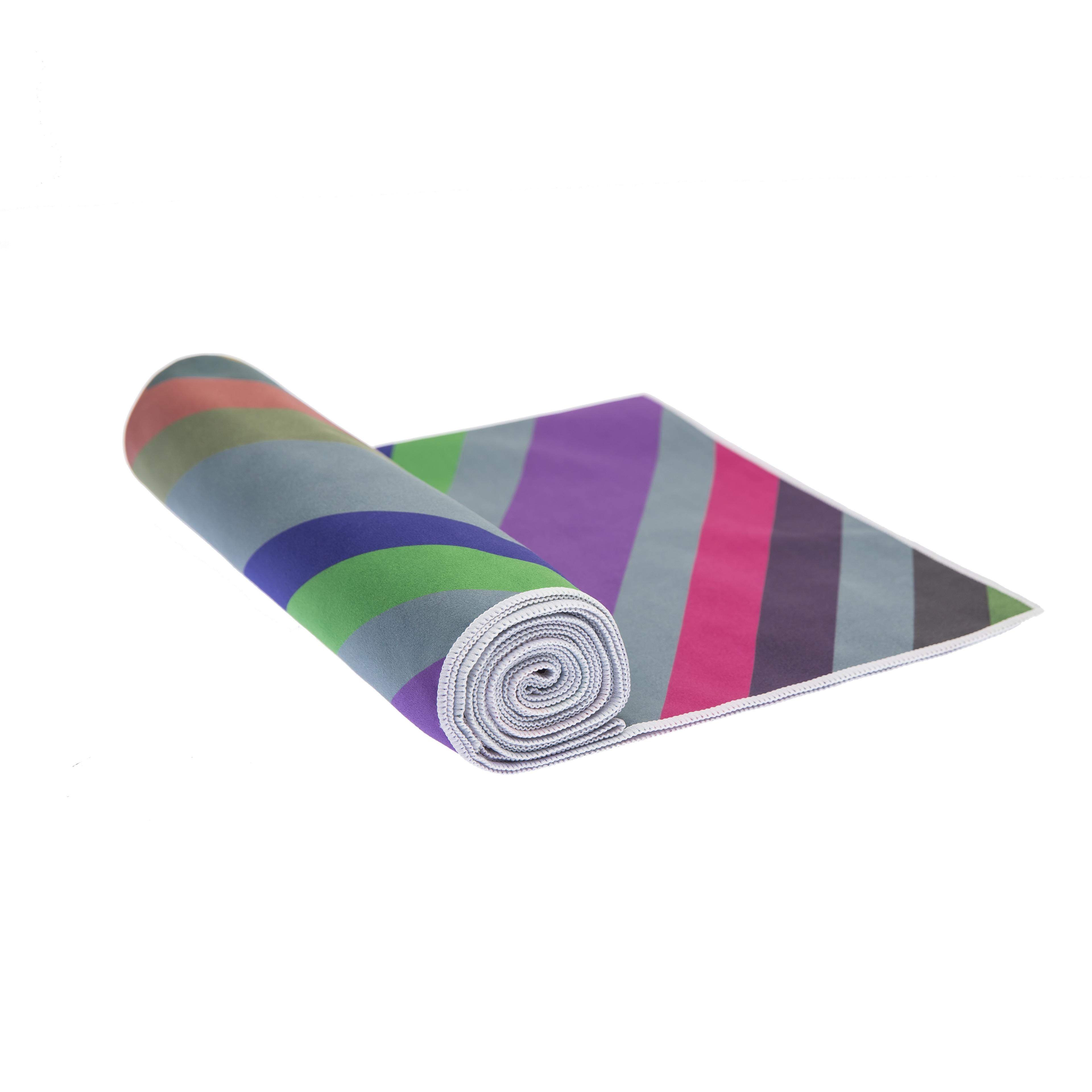 sahara printed mat towels yoga microfiber products towel mats folded cover