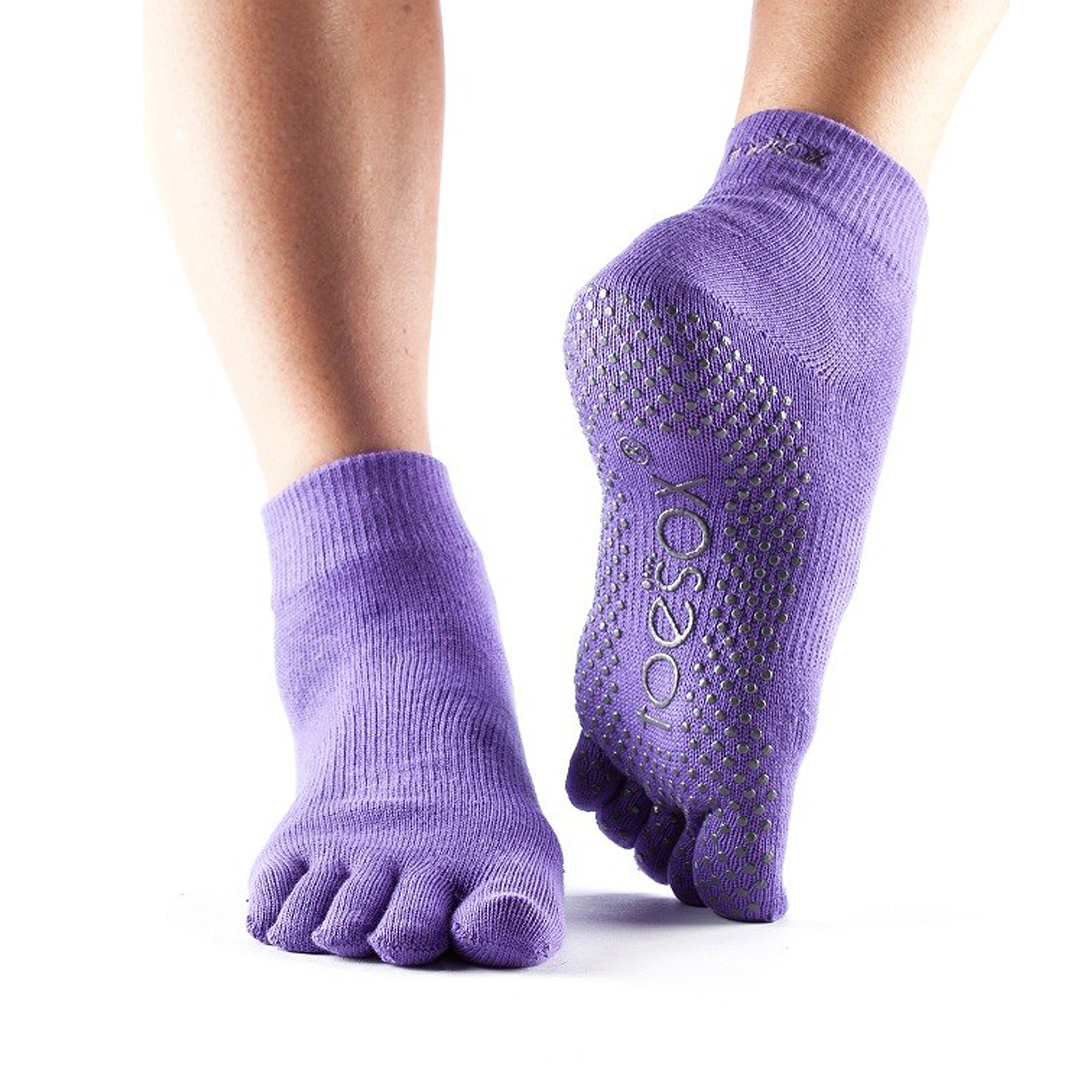 Toesox Full Toe Ankle Non Slip Grip Workout Dance Yoga