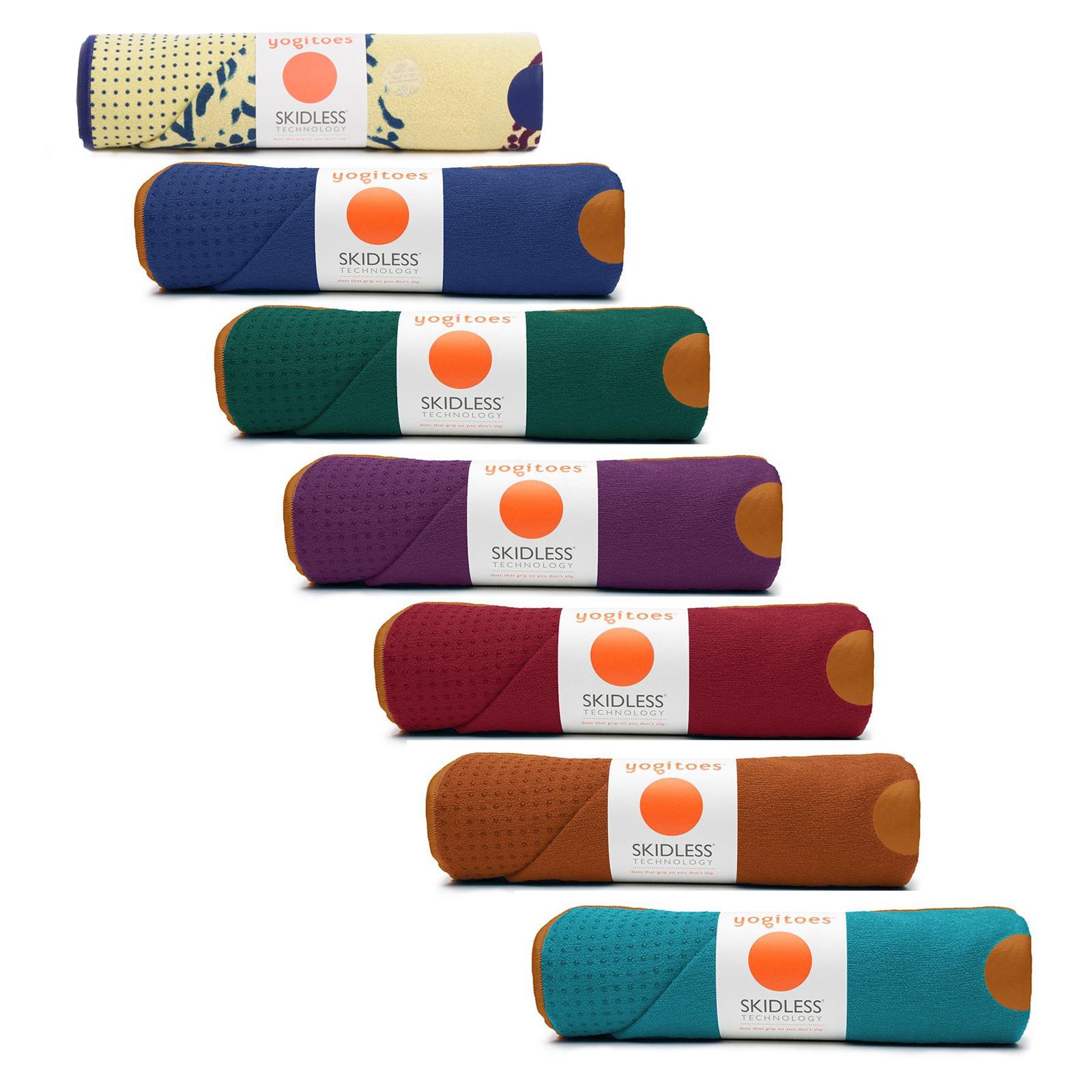 Yoga Towel Chakra: Manduka Yogitoes RSkidless Non Slip Yoga Fitness Exercise
