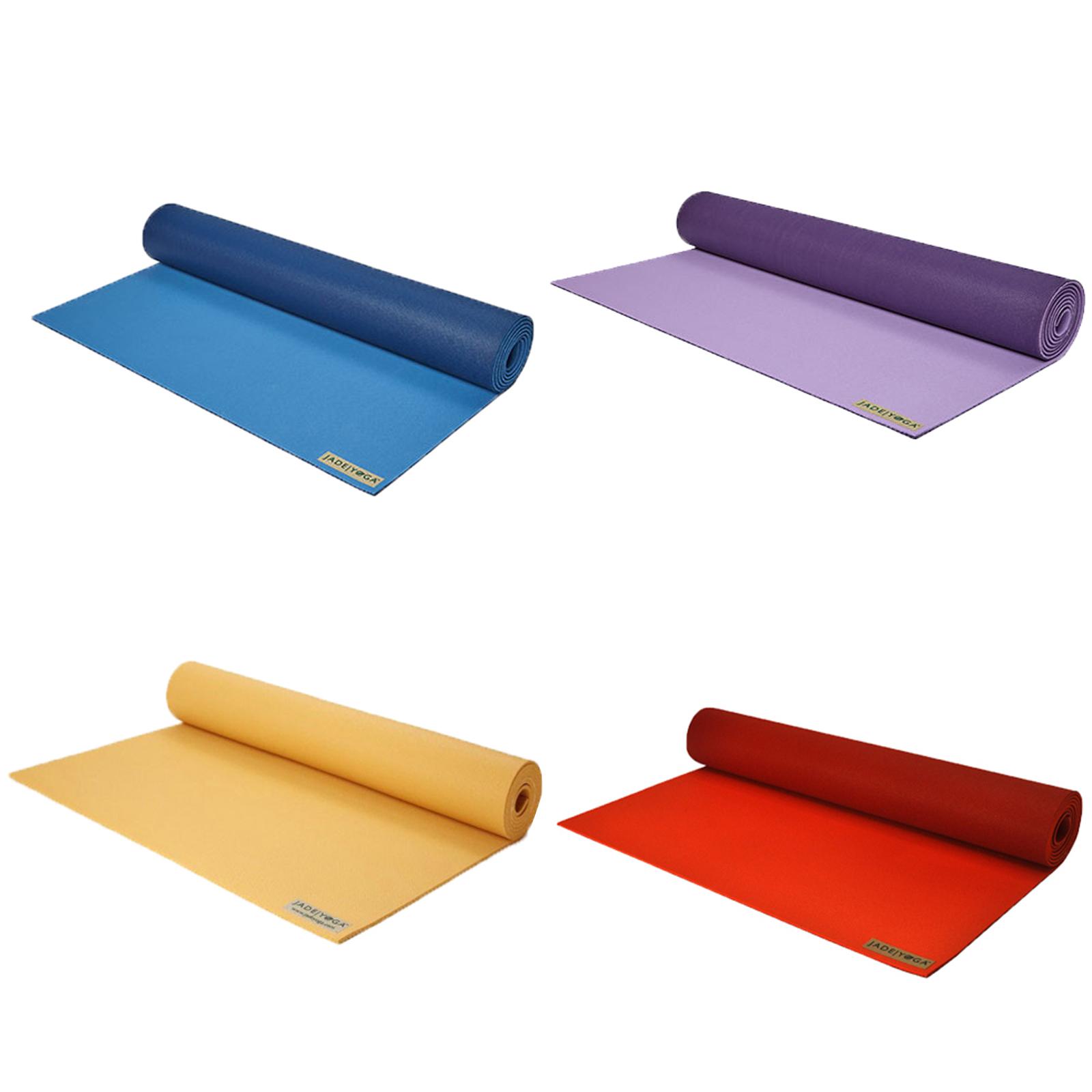 Jade Yoga Harmony 71 Inch Eco Friendly Yoga Pilates Exercise Fitness Mat 5mm Ebay