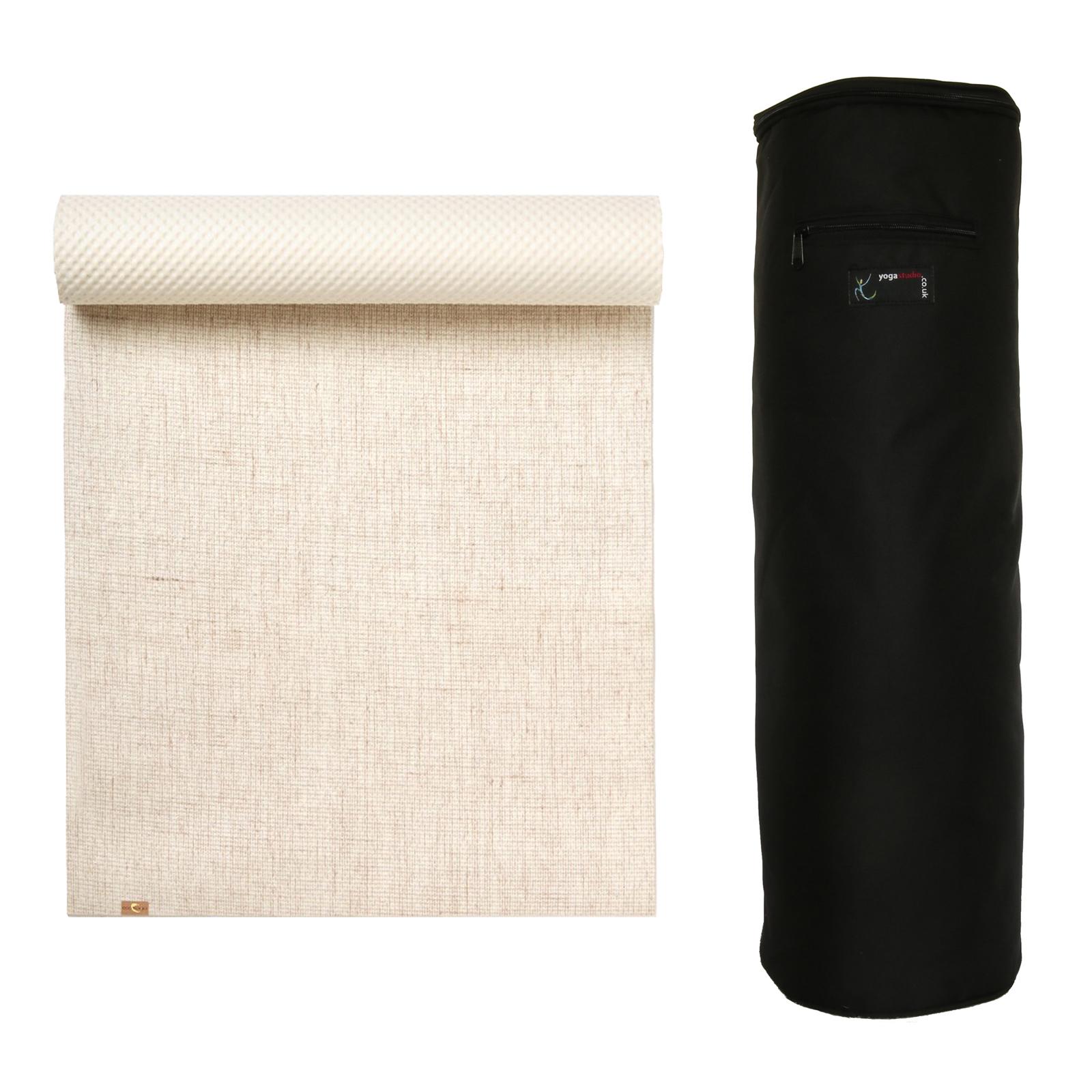 hot sale custom good texture Details about Yoga Studio - EcoYoga Kit Yoga Mat & Bag Combo Set - Various  Colours Available