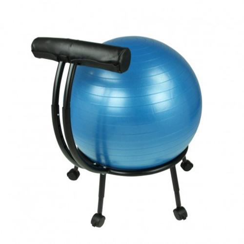 Stability Ball Desk Chair: Yoga Studio Pilates Stability Balance Ball Office