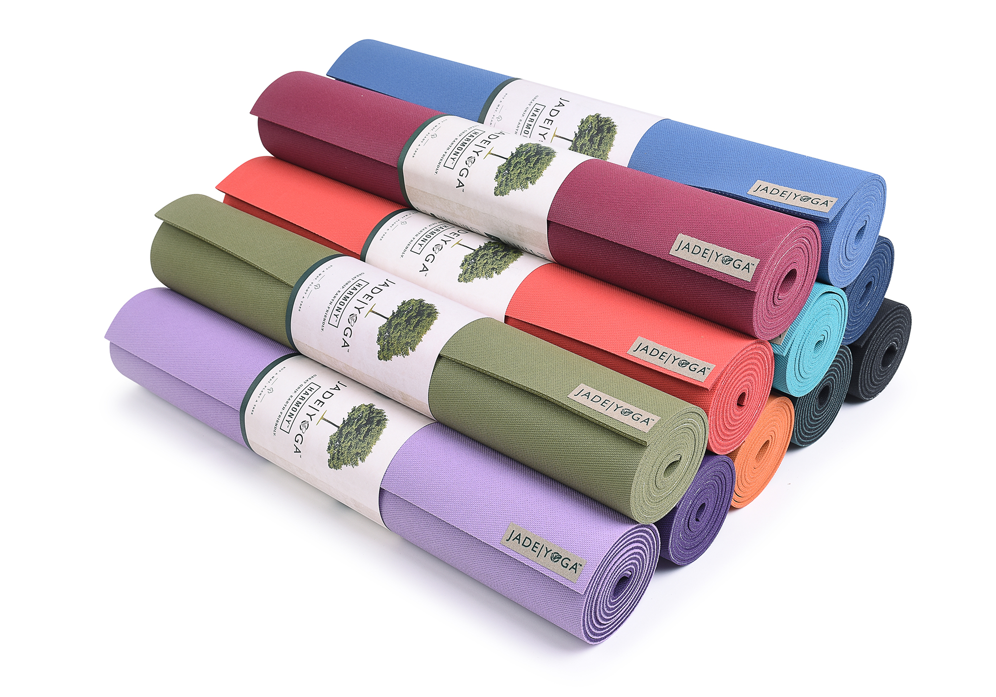 Jade Yoga Harmony 68 Inch Eco Friendly Yoga Pilates Exercise Fitness Mat 5mm Ebay
