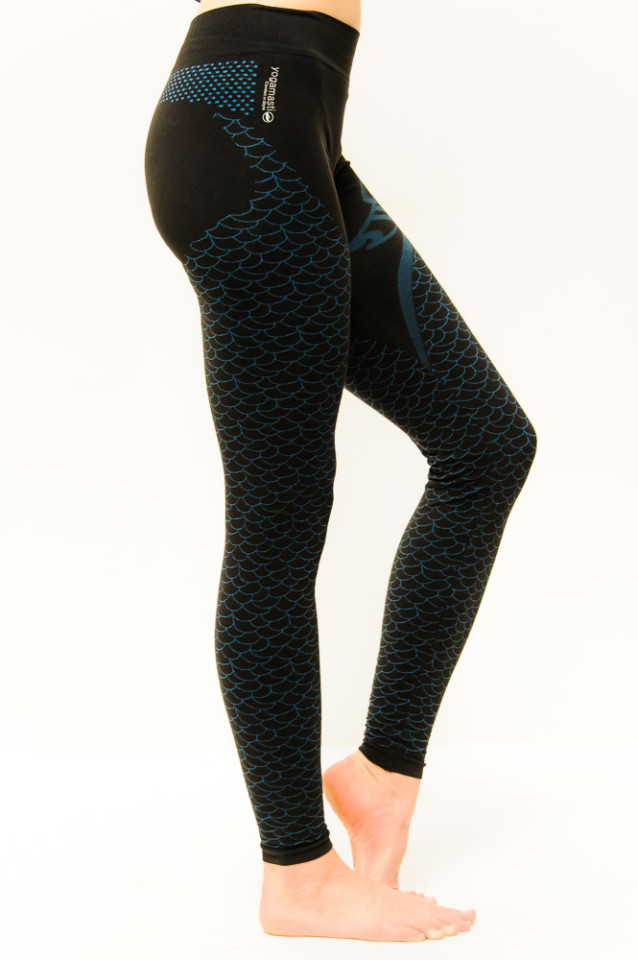 3c719ec7bd3e86 Details about Yogamasti Women's Seamless Shanti Om Breathable Yoga Practice  Leggings