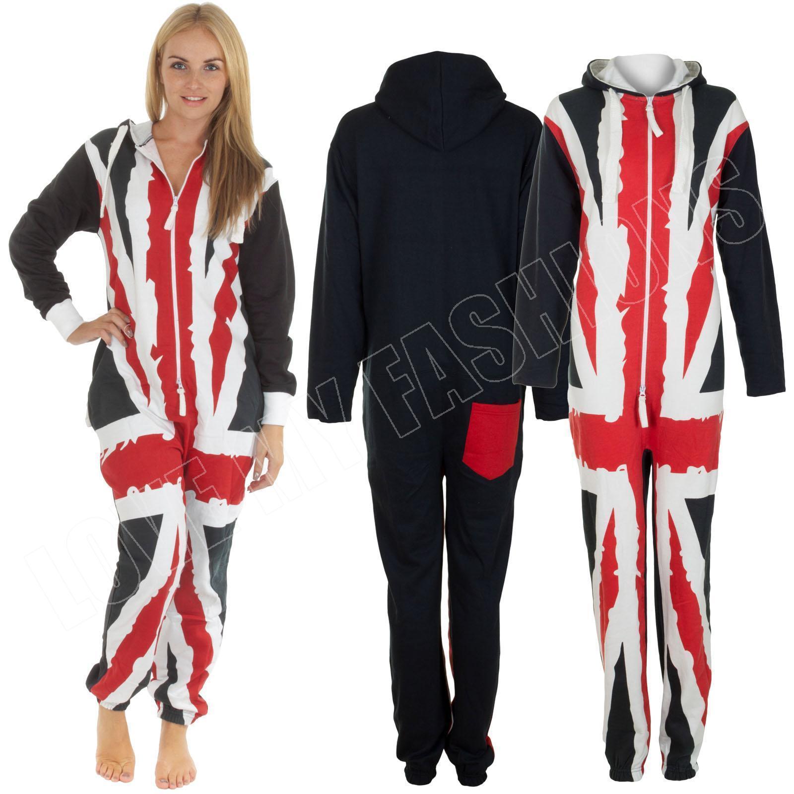 Co Unisex Union Jack Onesie Sleepwear