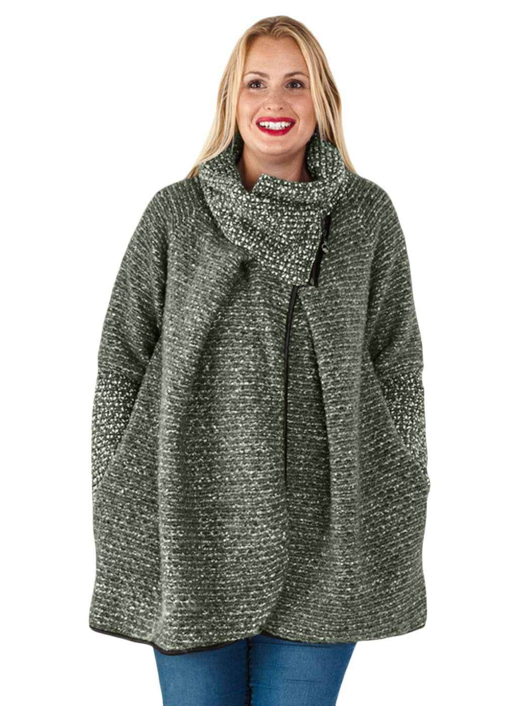 Womens knitted jacket
