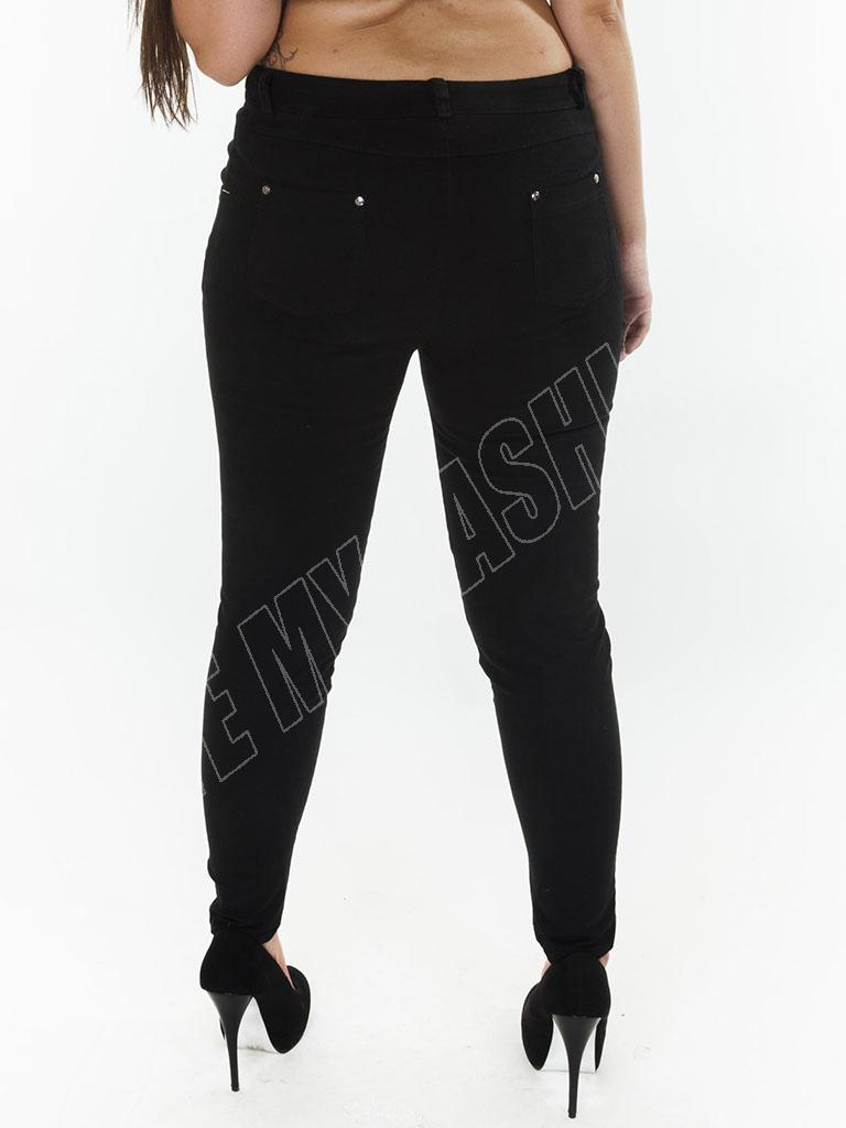 New Womens High Waisted Colour Jeans Jeggings Skinny Plus