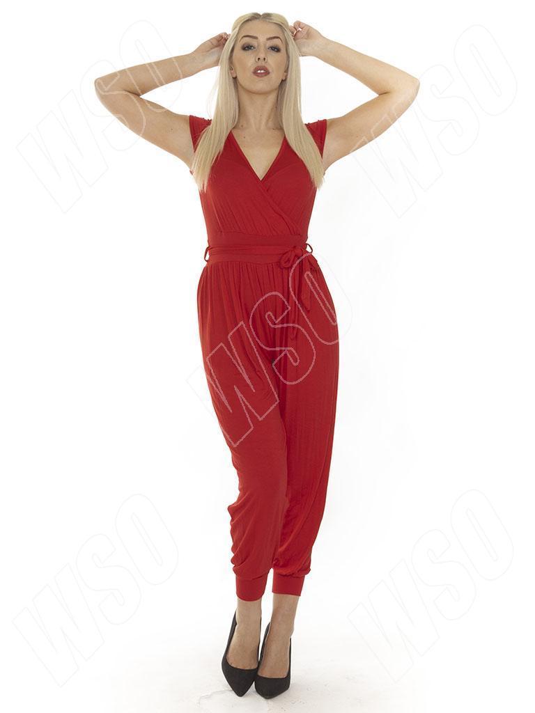 18b6d6f4a1 New Ladies Womens Animal Leopard Aztec Print Jumpsuit Playsuit Size S M L  XL 14