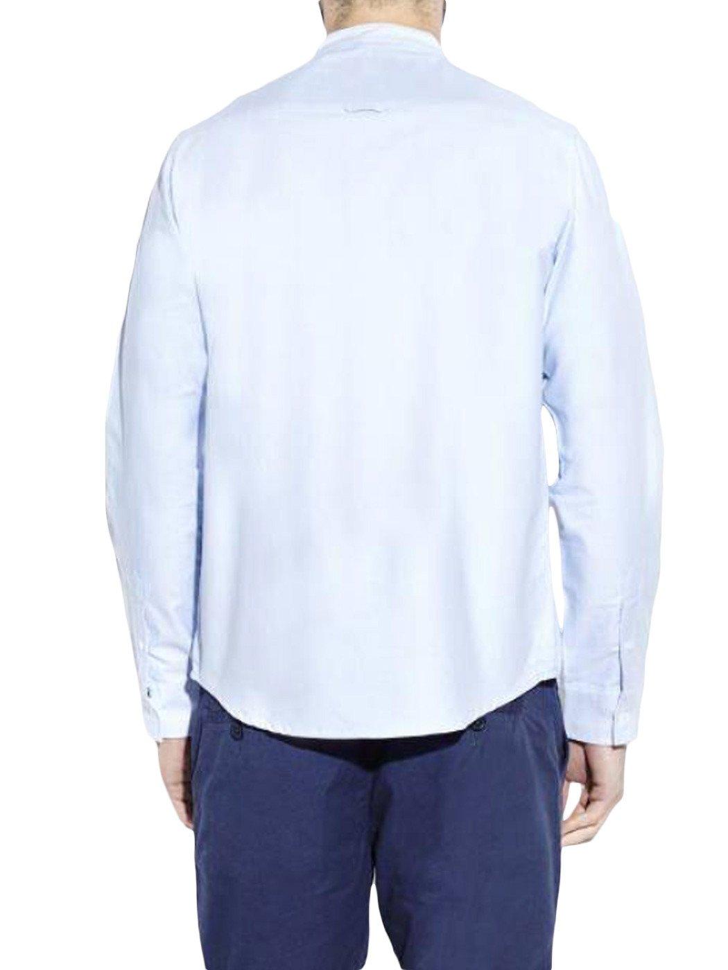 Mens Casual Brave Soul Mandarin Collar Long Sleeves Shirts