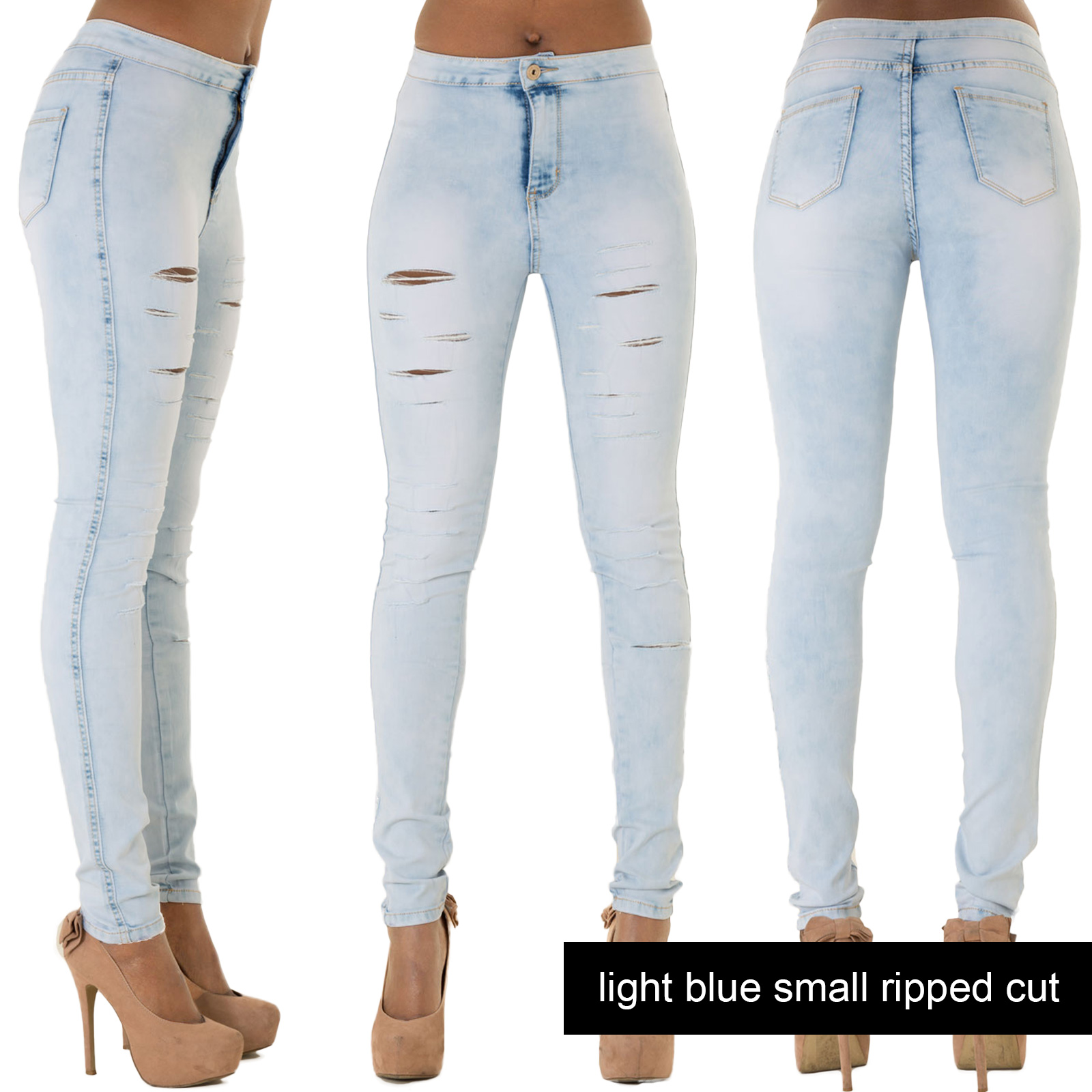 WOMENS-RIPPED-JEANS-STRETCH-FADED-SLIM-FIT-LADIES-SKINNY-DENIM-SIZE-6-8-10-12-14