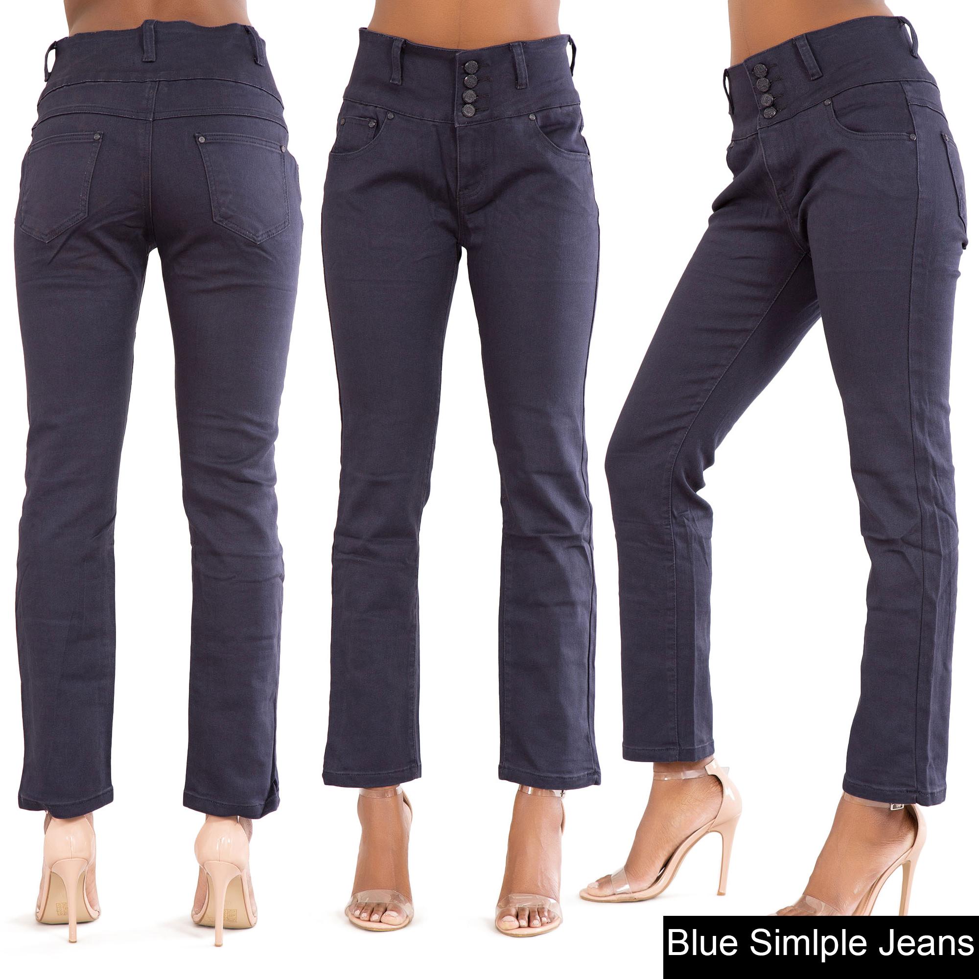 High waisted jeans 22