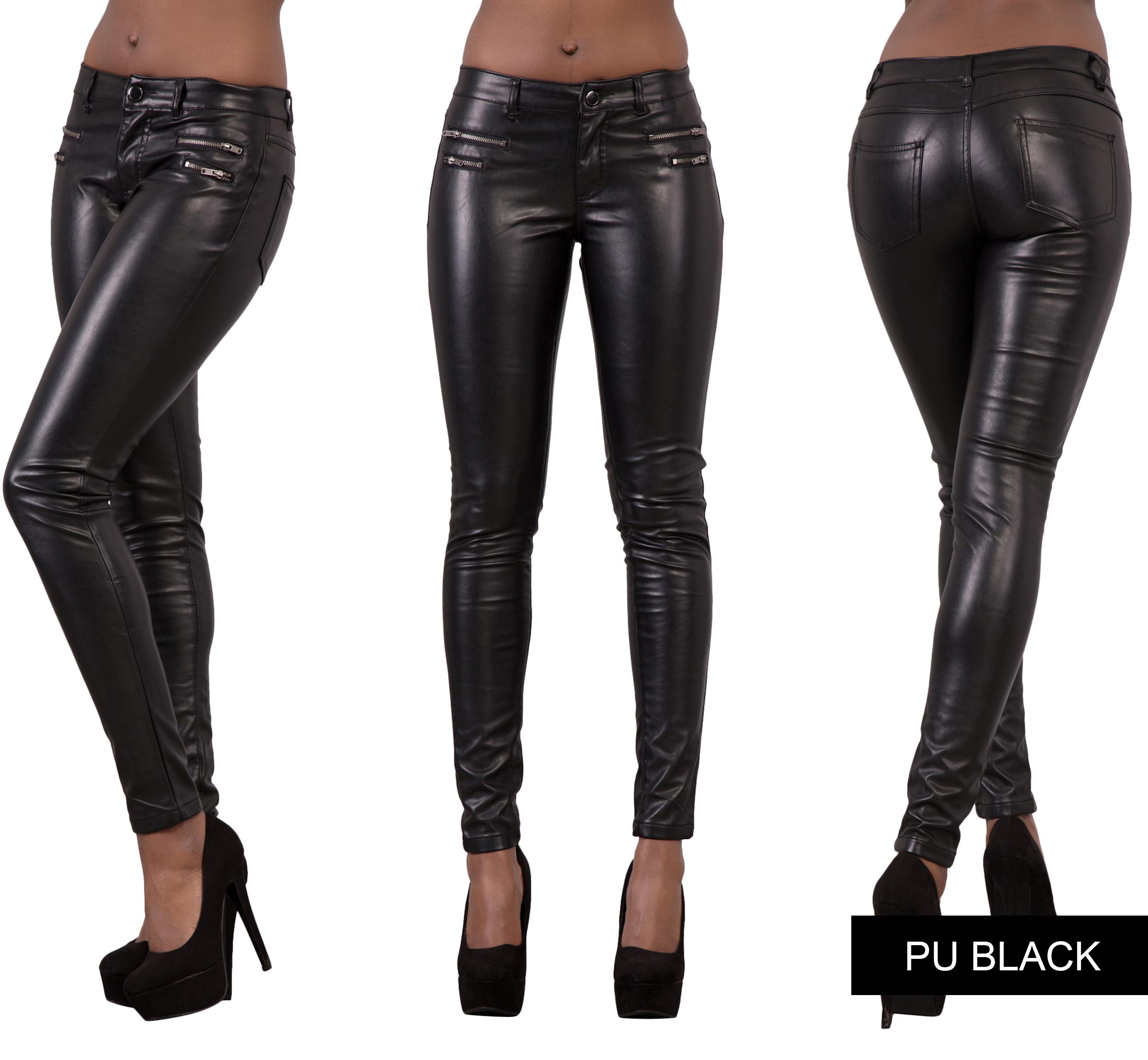 Leather look leggings ebay uk