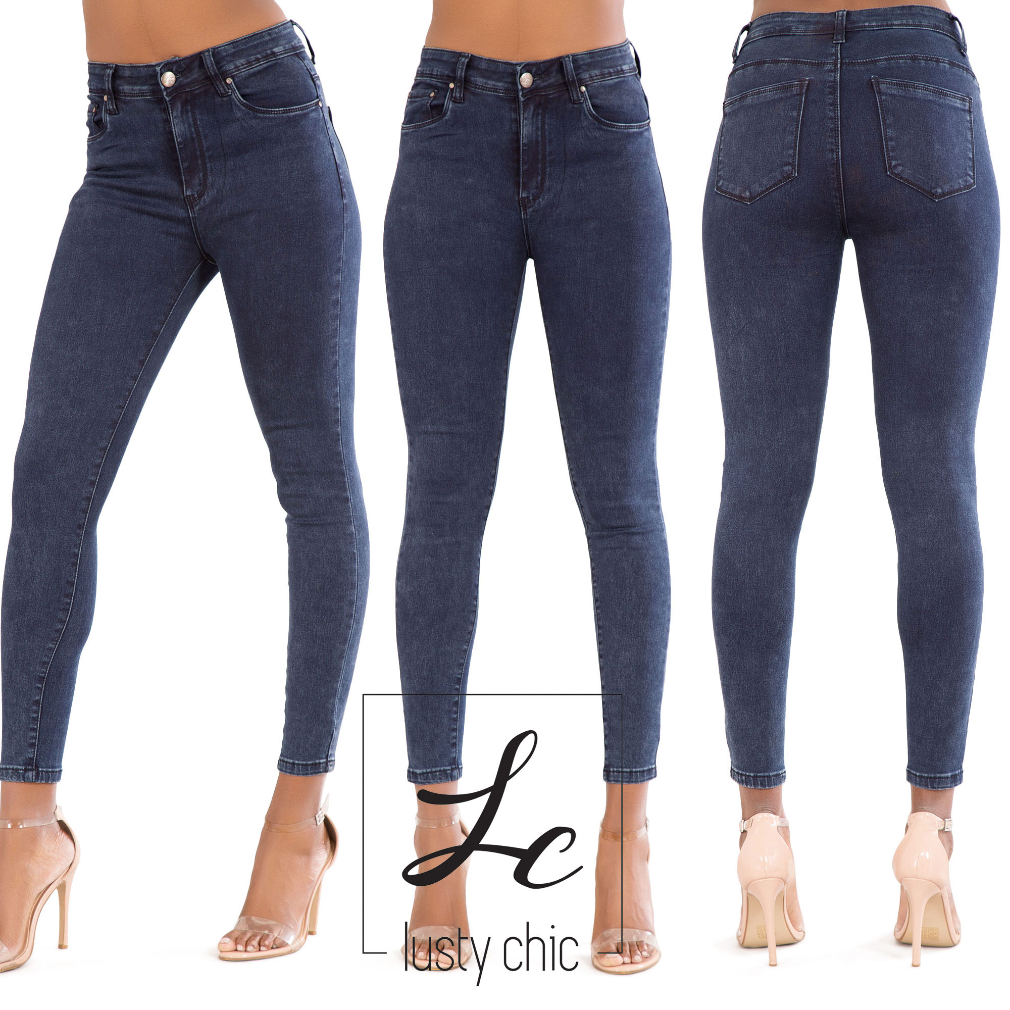 High waisted jeans are trendy and every woman needs a few pairs! Keep it classic with a dark wash legging or add a little flare with distressing or embroidery. Our Girlfriend jeans let you keep the comfort and show off your waist.