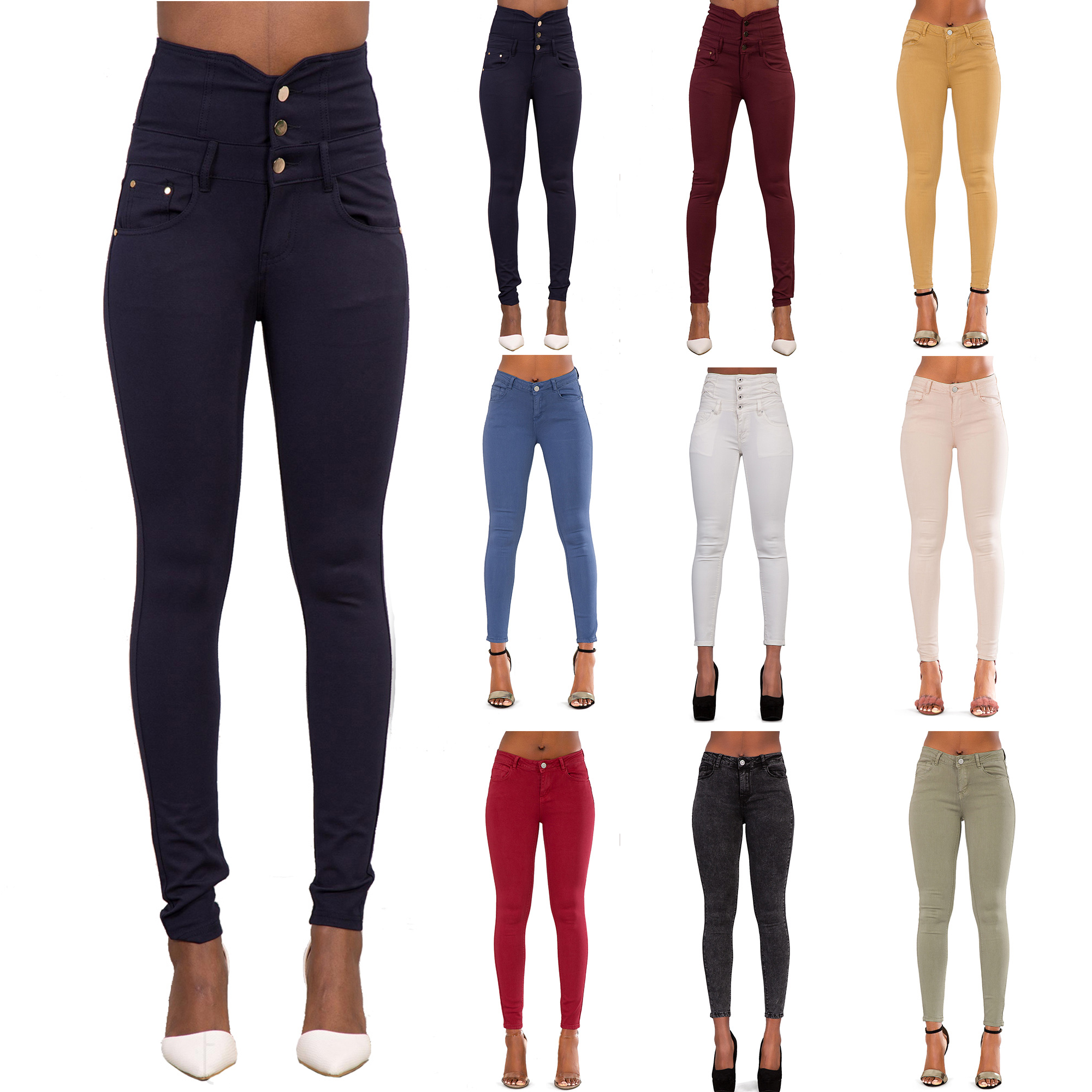 Women's High-waisted Suede Skinny Trousers £ 2, From Moda Operandi Price last checked 4 hours ago Product prices and availability are accurate as of .
