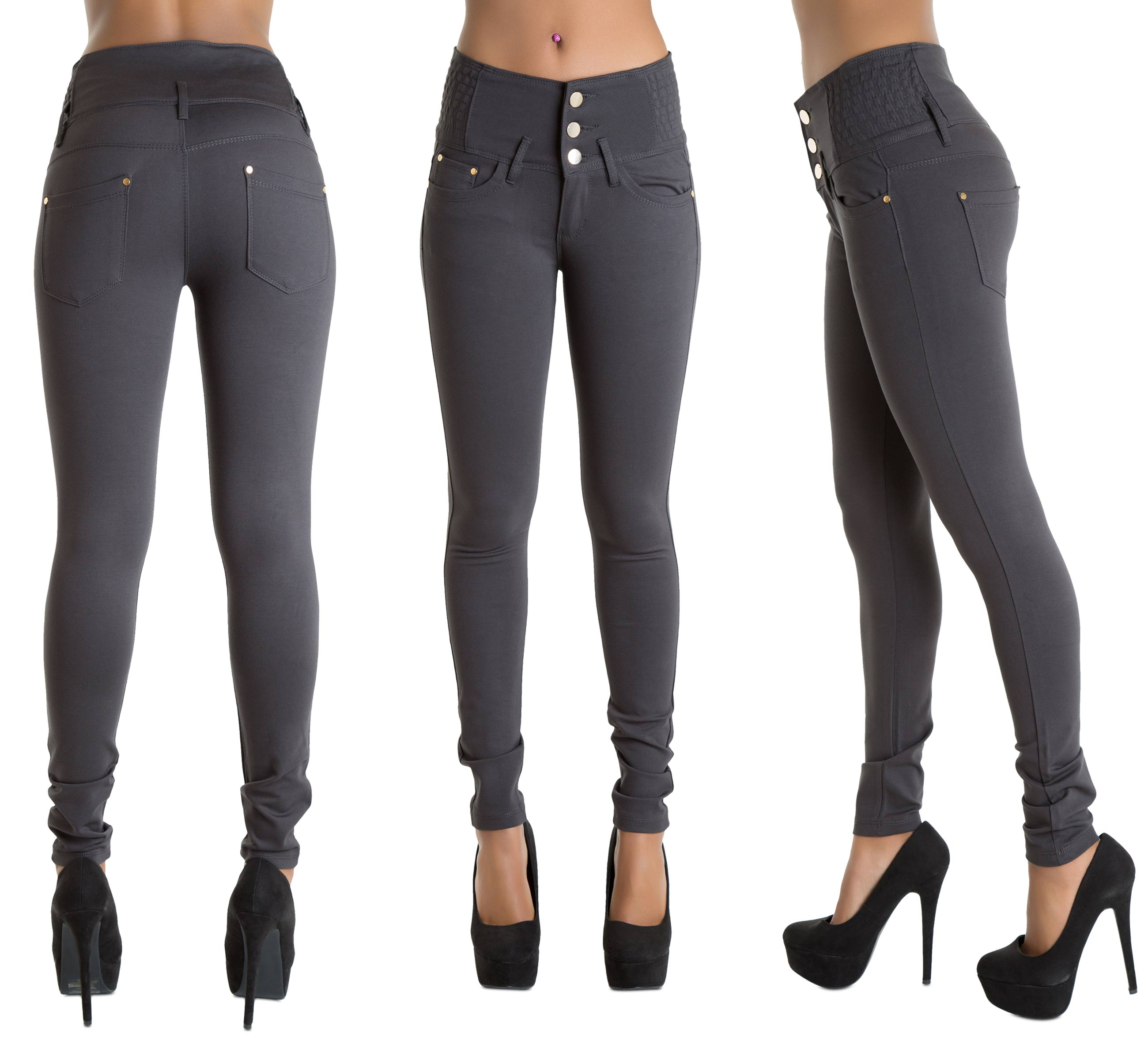 Compare your measurements from Steps 1 and 2 to a sizing chart. Size 2 pants fit waists of 24 inches and hips of inches. Size 4 pants fit waists of 25 inches and hips of inches. Size 6 pants fit waists of 26 inches and hips of inches. Size 8 pants fit waists of 27 inches and hips of inches.