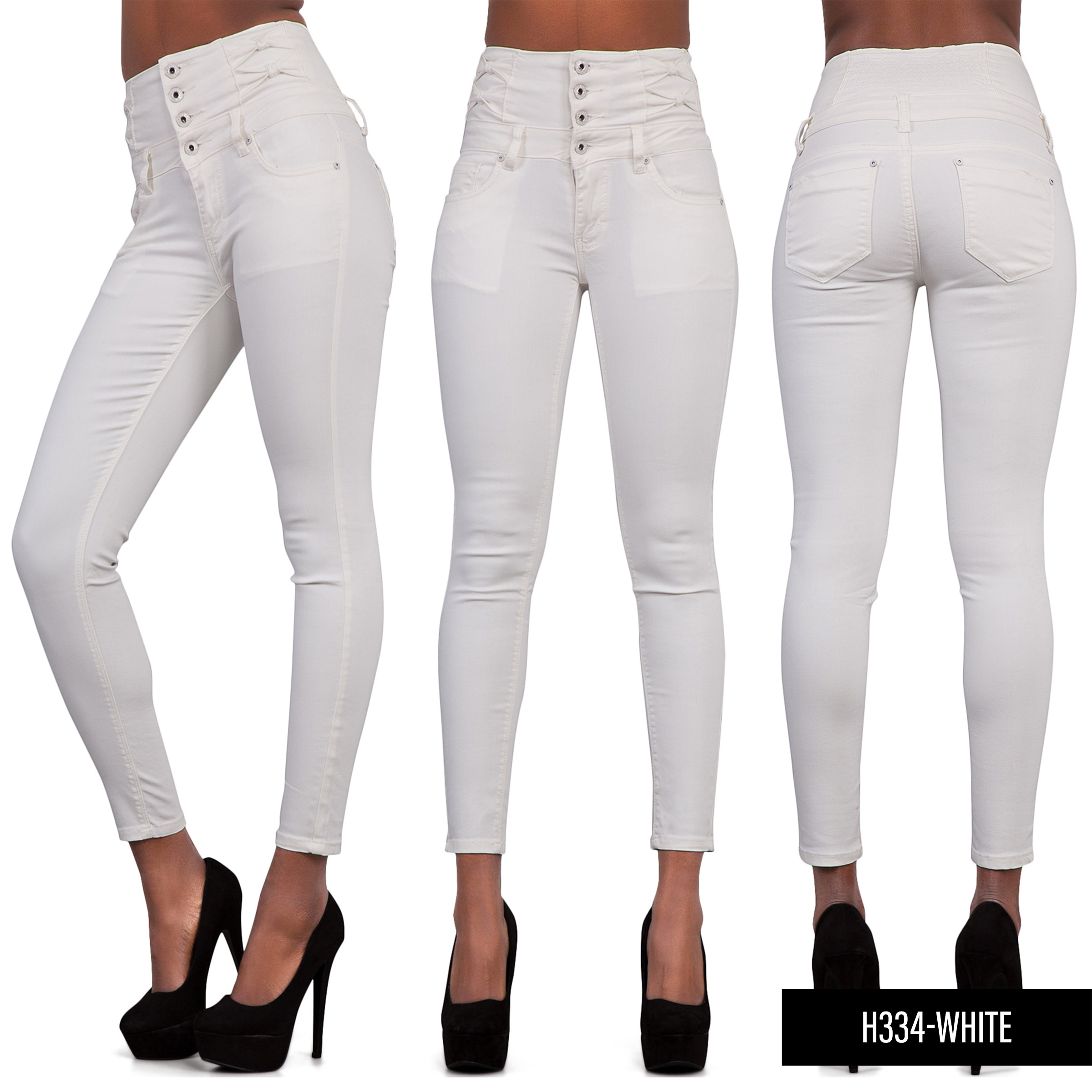 High waisted white jeans south africa
