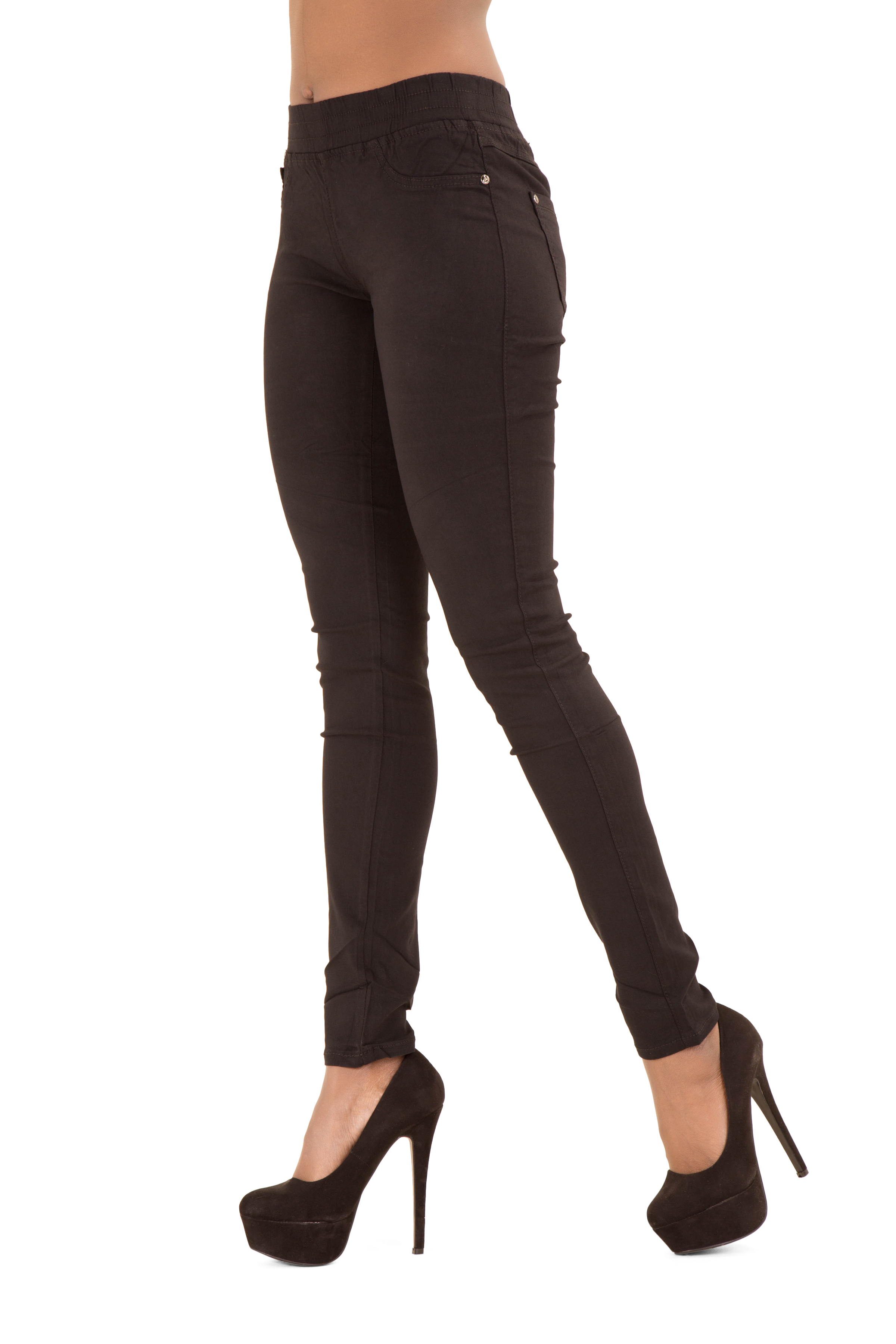 WOMENS LEGGINGS LADIES CASUAL STRETCH DENIM JEANS LOOK JEGGINGS PLUS SIZE £ Buy it now. Free P&P. DENIM BLACK & DENIM NAVY. SOFT AND STRETCH MATERIAL. POCKETS AT THE BACK. Wallis Black Denim Jeggings Size 12 Side zip and press stud fastening, no pockets Item is used. Will be sent by .