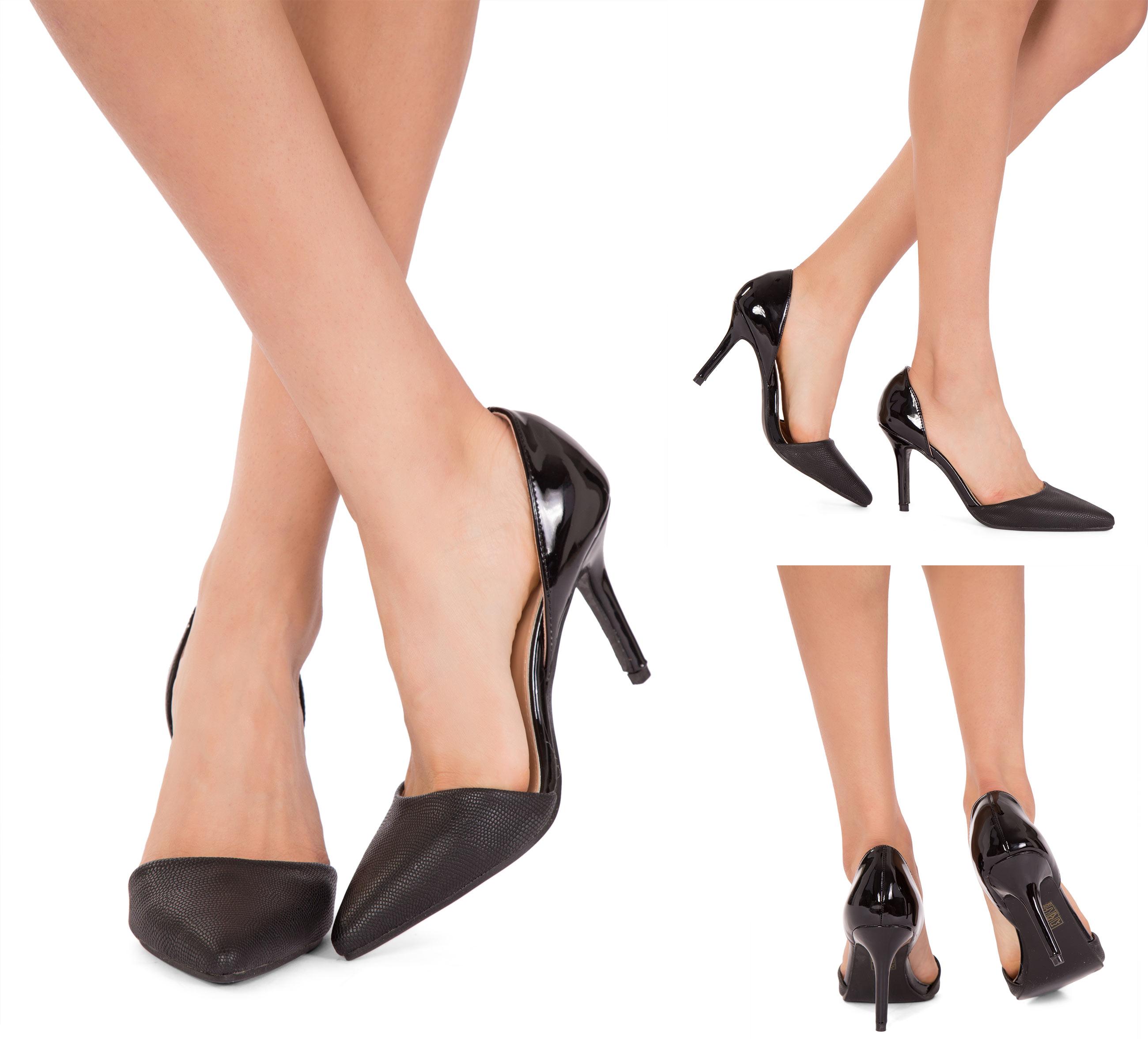 BRAND NEW LADIES WOMEN PEEP TOE PIN BUCKLE STILETTO FASHION SANDALS UK SIZE 3-8