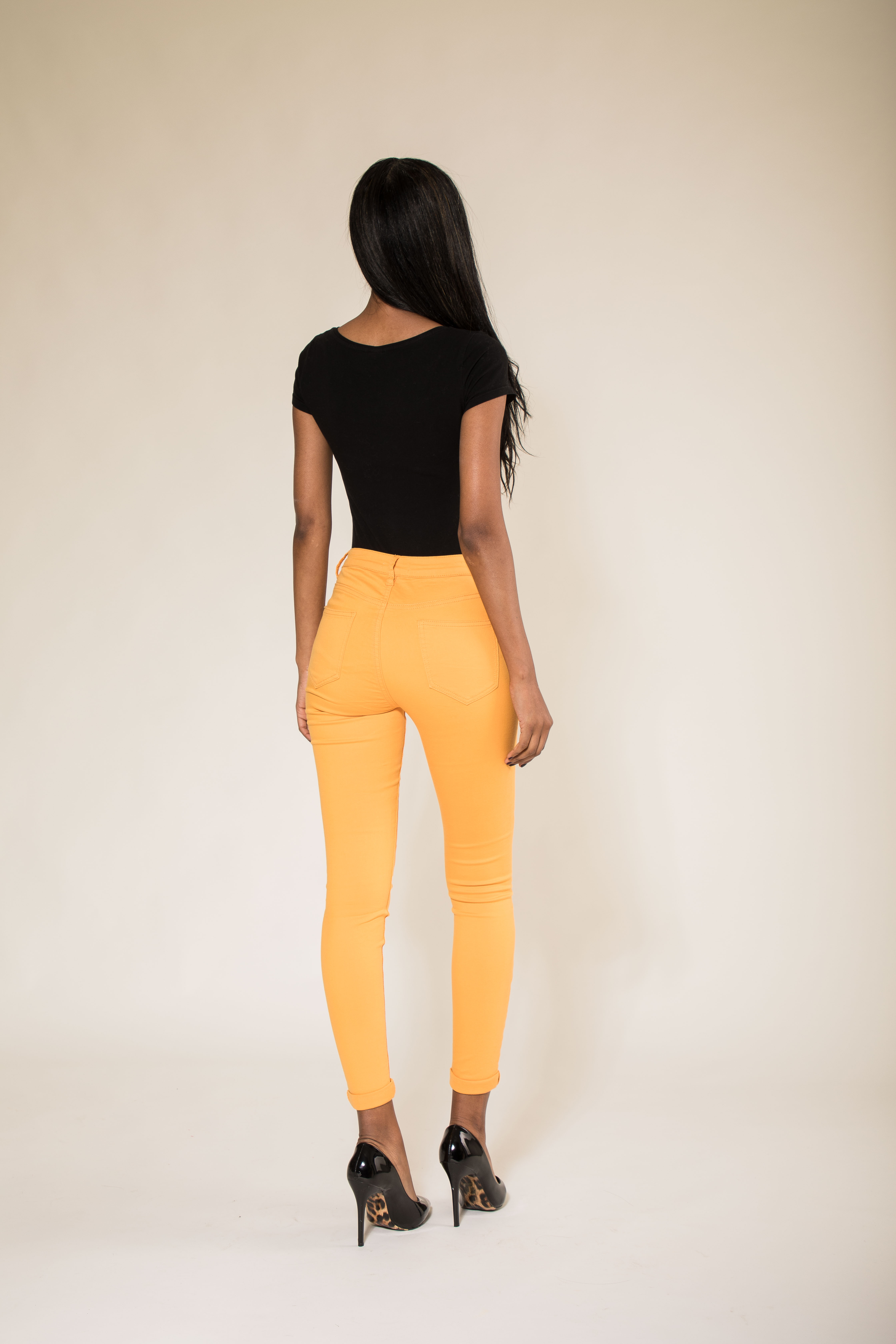 Women-High-Waisted-Jeans-Ladies-Coloured-Stretchy-jeggings-Pants-Size-6-14 thumbnail 11