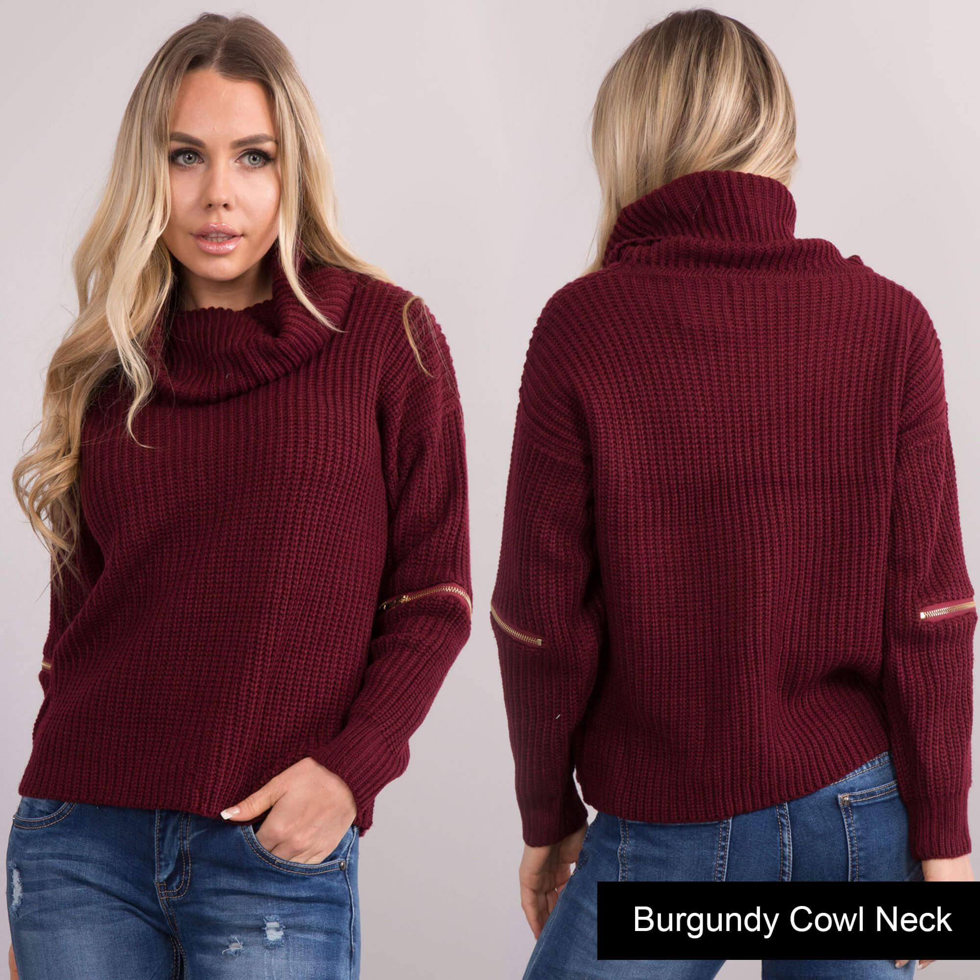 New Ladies Women Oversized Wool Knit Teddy Jumper Sweater Top ...