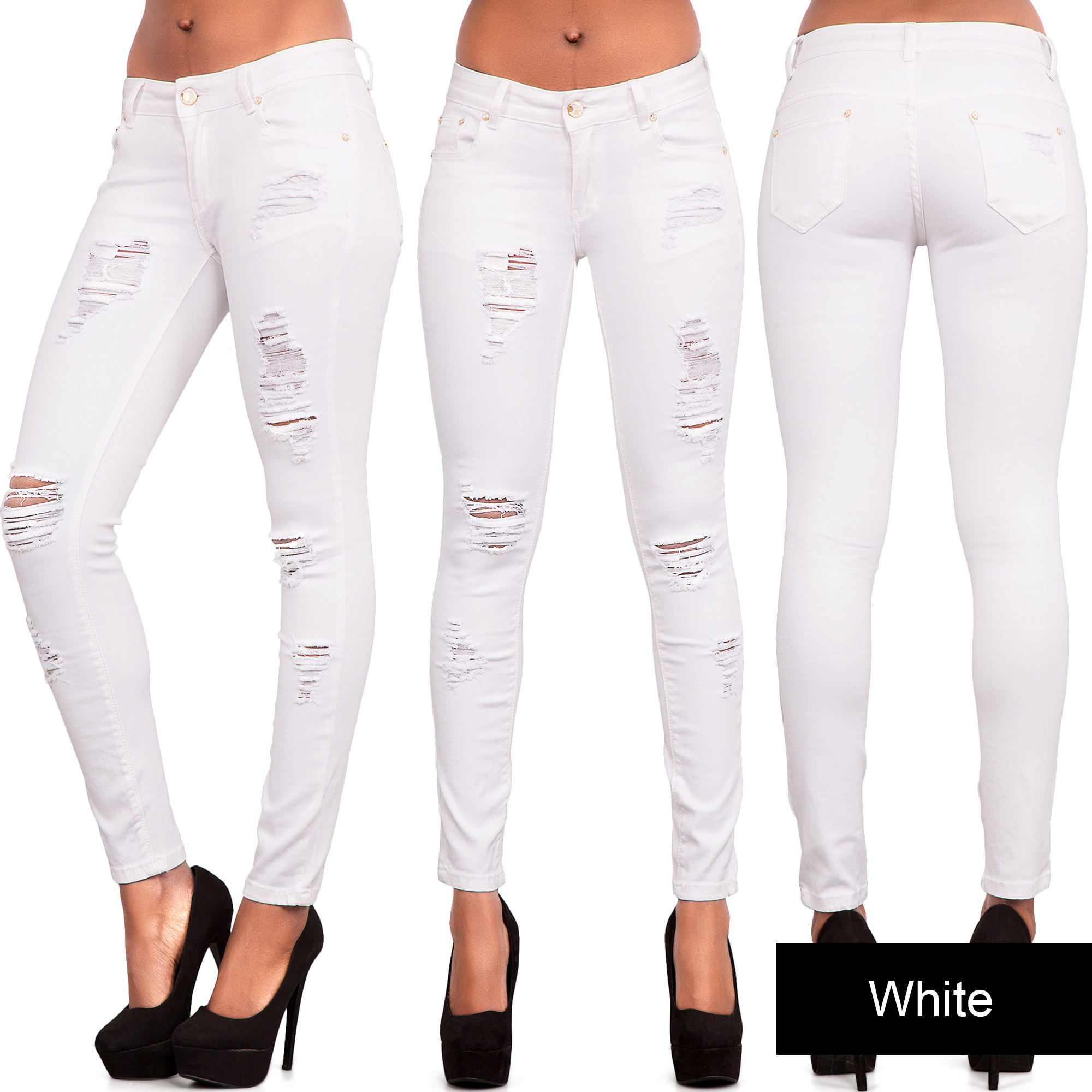 Your little cowgirl will look so darling in western jeans just like mommy's.