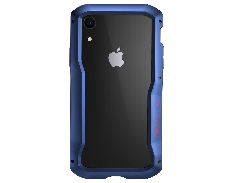 the best attitude 0fd34 f165e Details about Element Case Vapor-S MIL-SPEC Aluminium Rugged Bumper Case  For iPhone XR