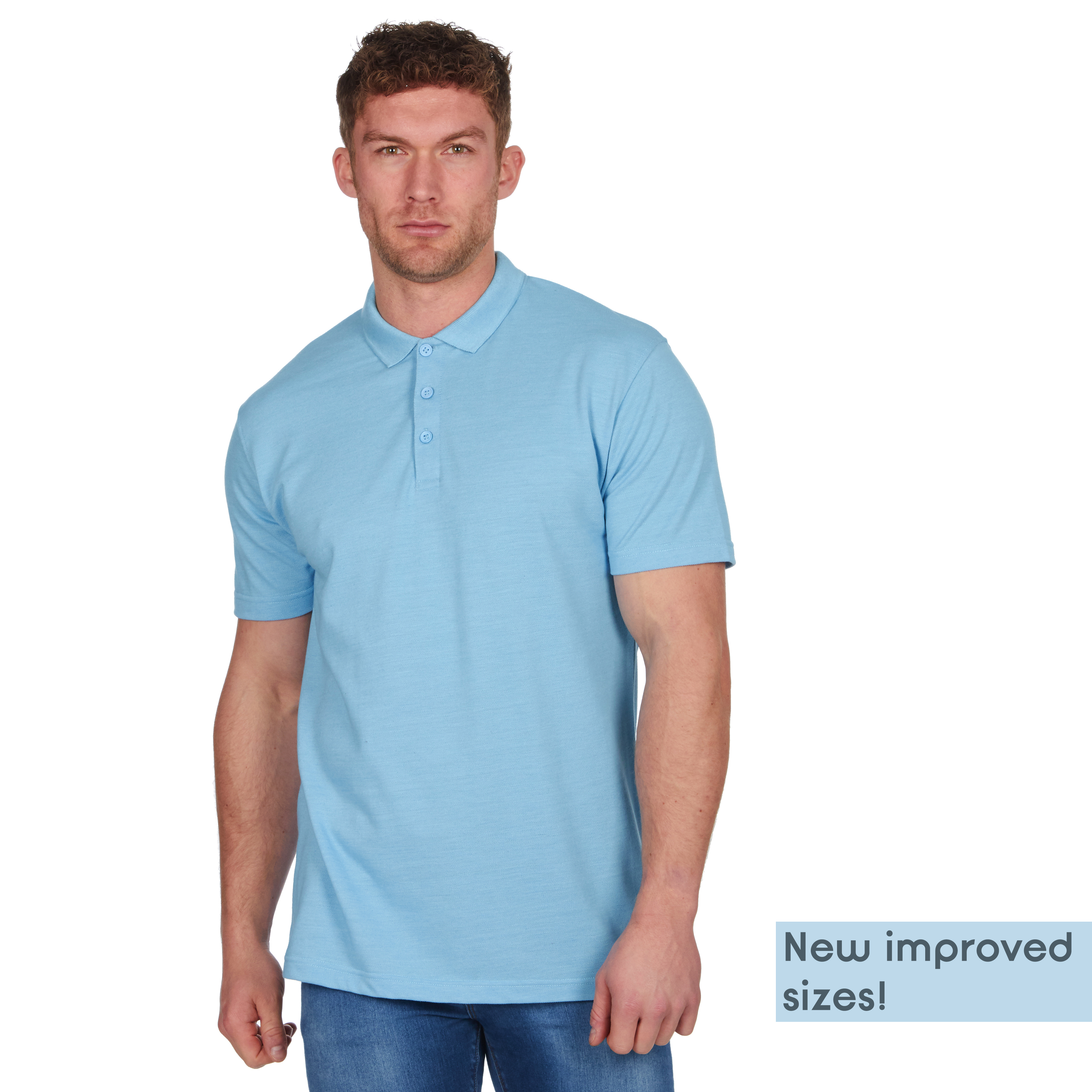 Mens-Classic-Polo-Top-Plus-Size-T-Shirt-Plain-Shirt-Big-And-Tall-Short-Sleeve thumbnail 49