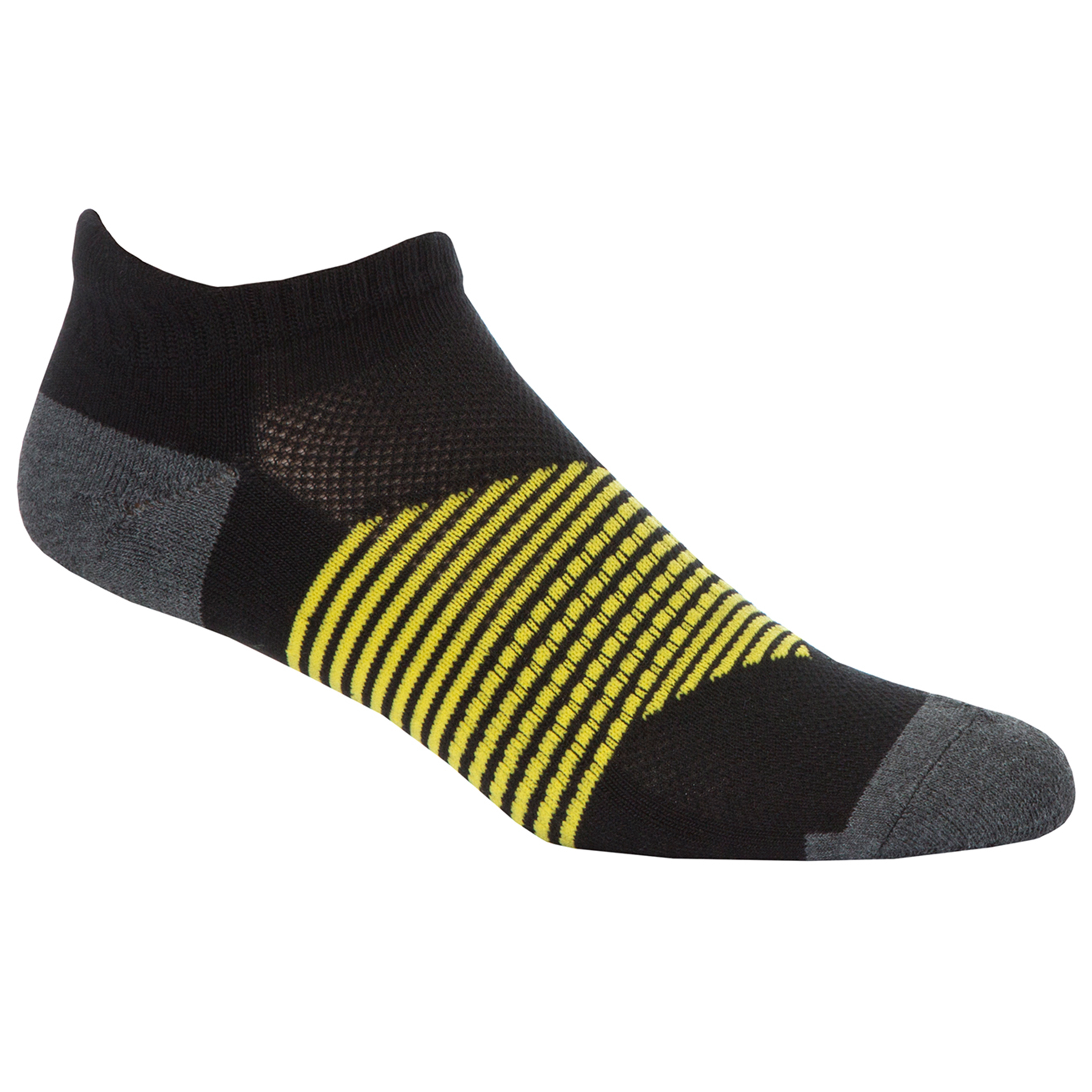 RedTag Active Mens Cushioned Sport Trainer Socks Stripe 6-11