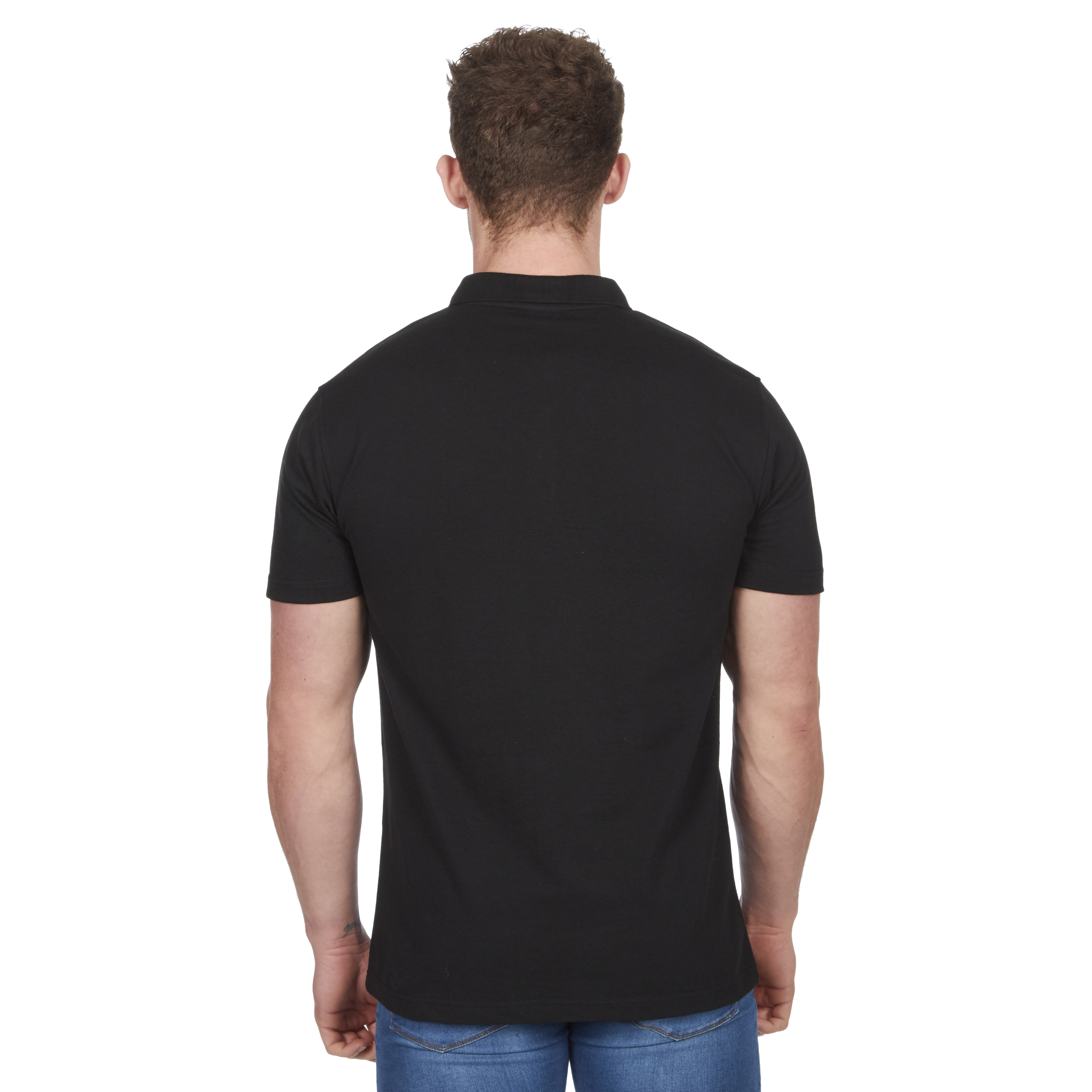 Mens-Classic-Polo-Top-Plus-Size-T-Shirt-Plain-Shirt-Big-And-Tall-Short-Sleeve thumbnail 4