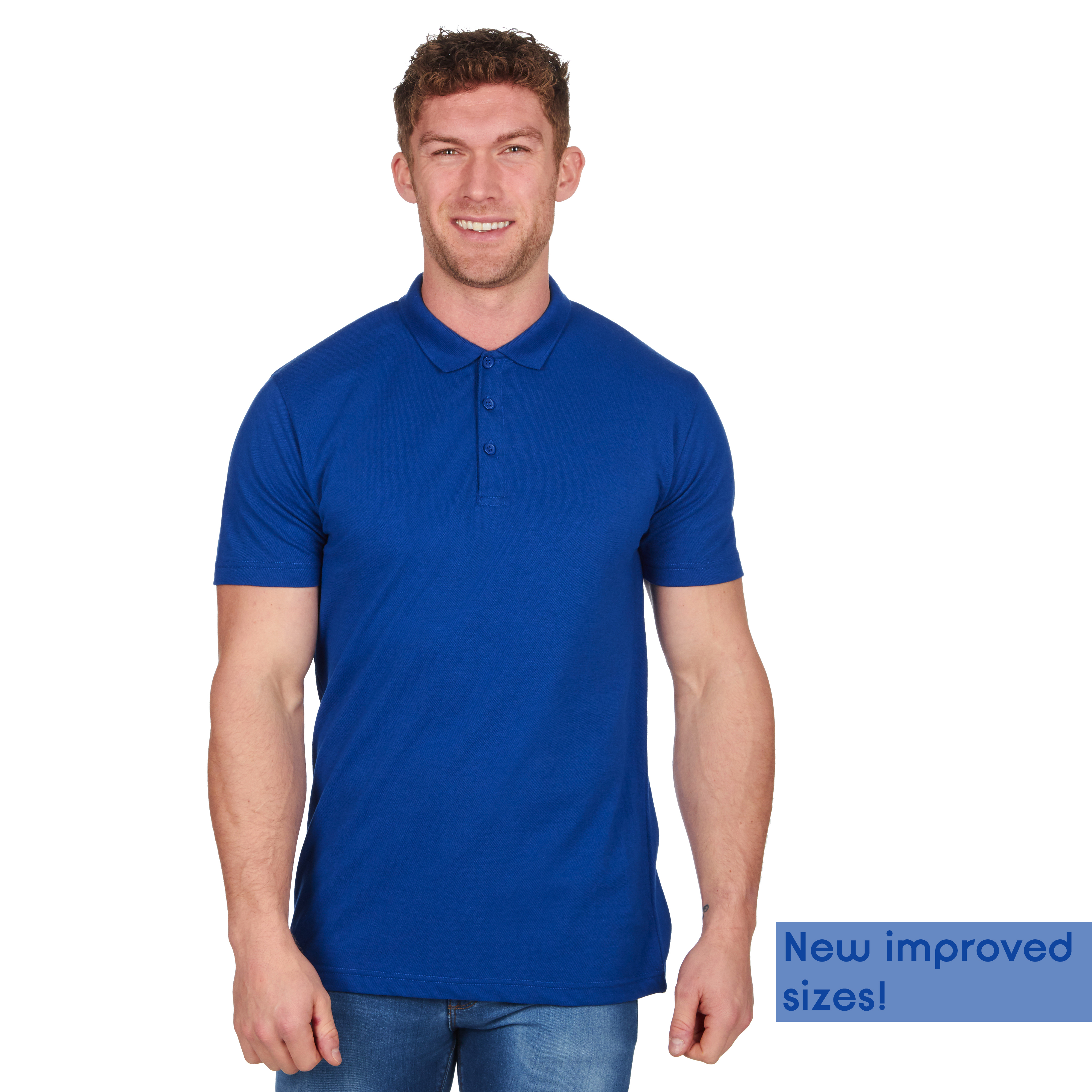 Mens-Classic-Polo-Top-Plus-Size-T-Shirt-Plain-Shirt-Big-And-Tall-Short-Sleeve thumbnail 44