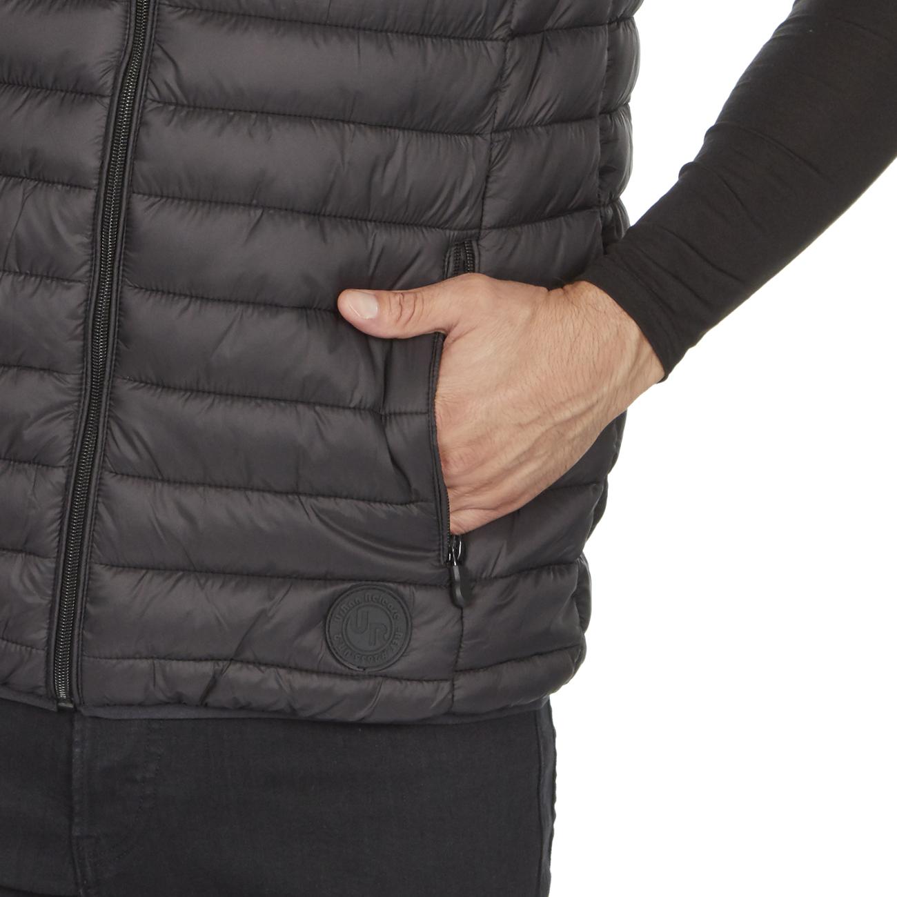 Mens-Padded-Vegan-Gilet-Bodywarmer-Windproof-Lightweight-Casual-Sleeveless-M-2XL thumbnail 5
