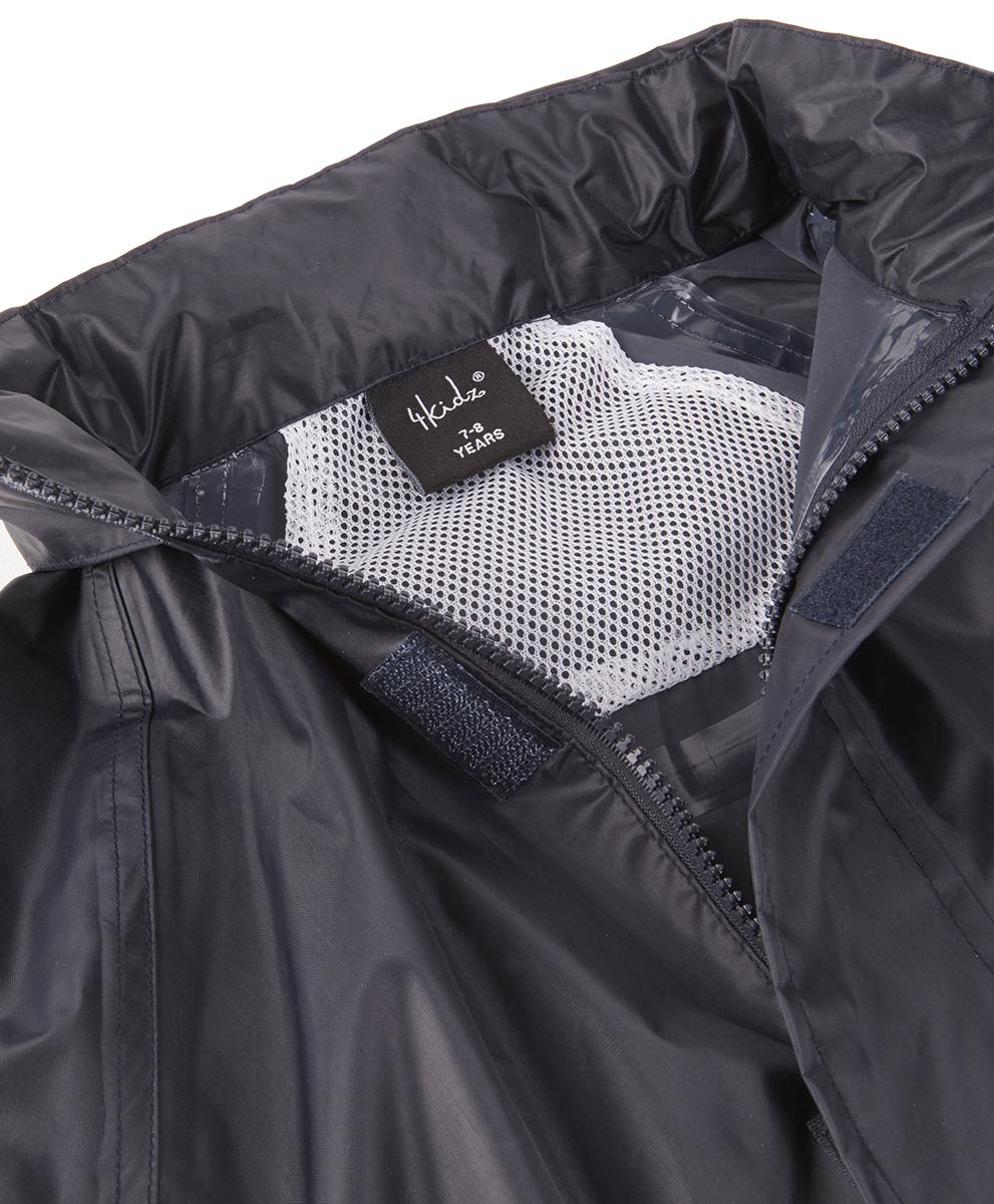 Boys-Kids-Waterproof-Tracksuit-Jacket-Coat-Trousers-Pants-Set-Outdoor-Camping thumbnail 3