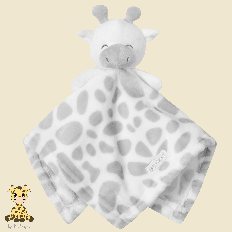 Newborn Baby Pink White Unicorn Comforter Soft Cot Toy Snuggle Blanket Sleep Aid