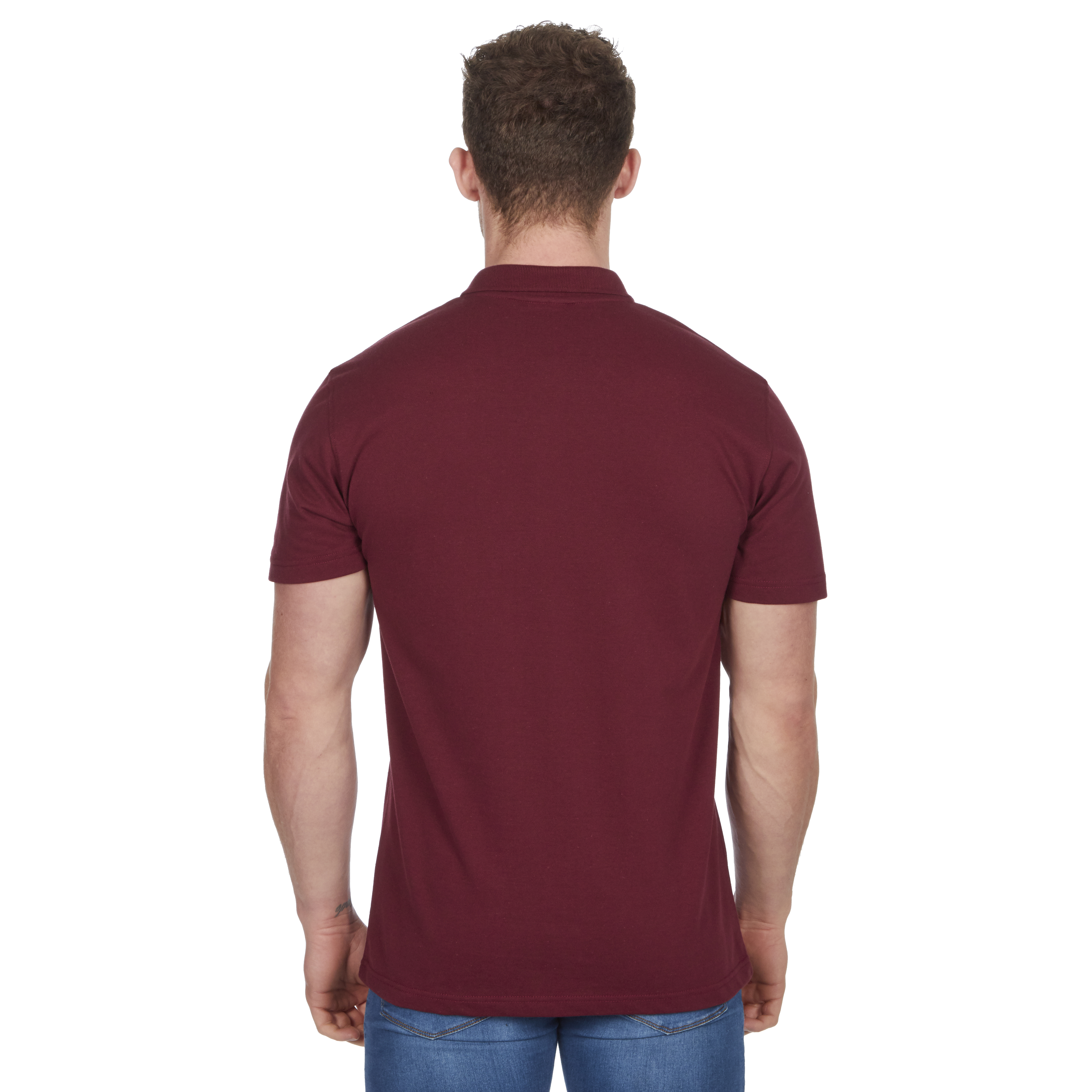 Mens-Classic-Polo-Top-Plus-Size-T-Shirt-Plain-Shirt-Big-And-Tall-Short-Sleeve thumbnail 40