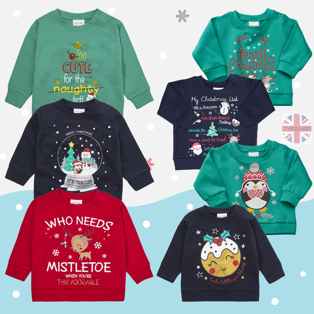 Babytown Girls Cotton Short Sleeve Printed Novelty T-Shirt