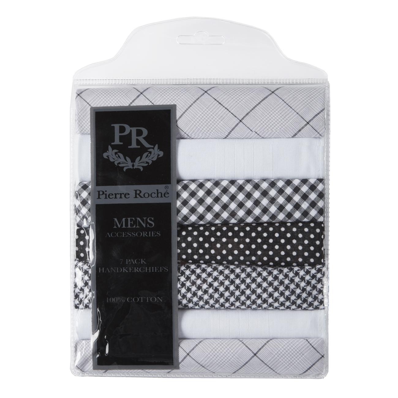 Set of 2 Mens Soft Handkerchiefs 100/% Cotton Classic Gentleman Pocket Square Handkerchief A14