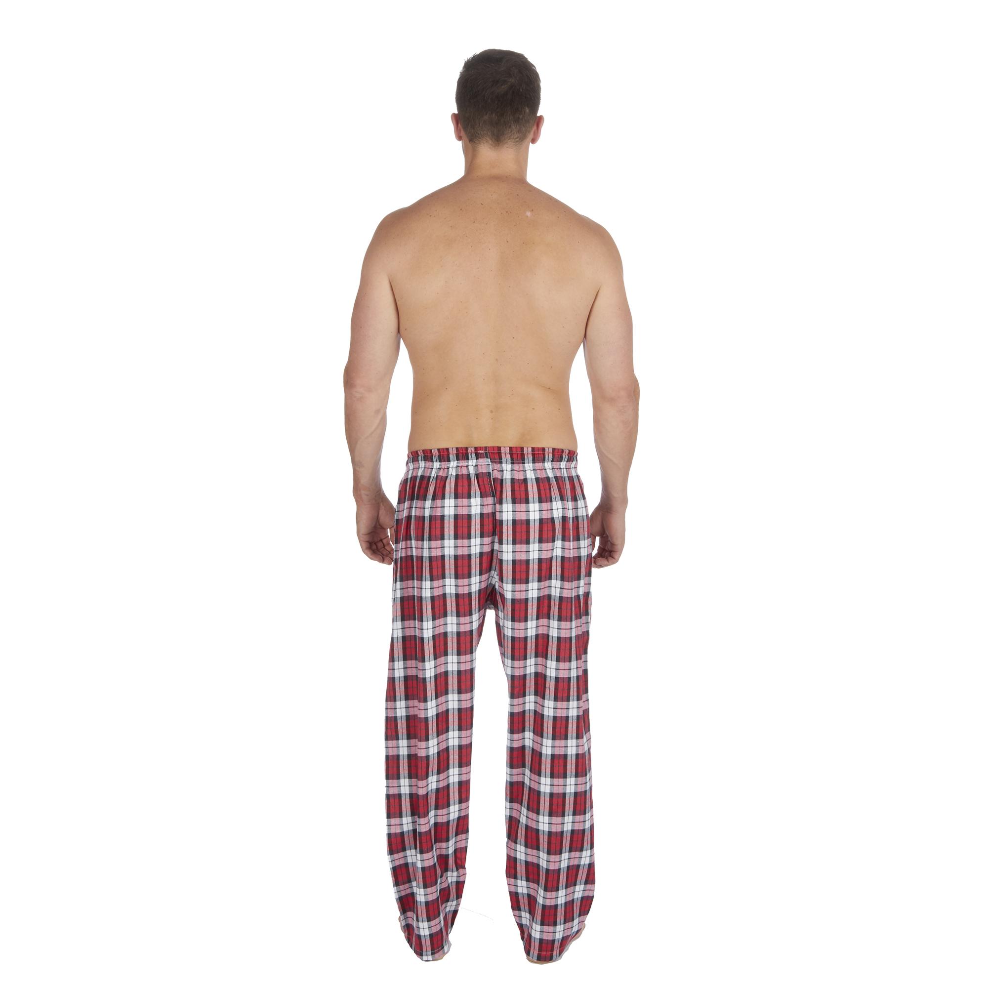 Jason-Jones-Homme-Carreaux-Tisse-Pyjama-Pantalon-en-Coton-Melange-Serge-PJ-Lounge-Pants miniature 29