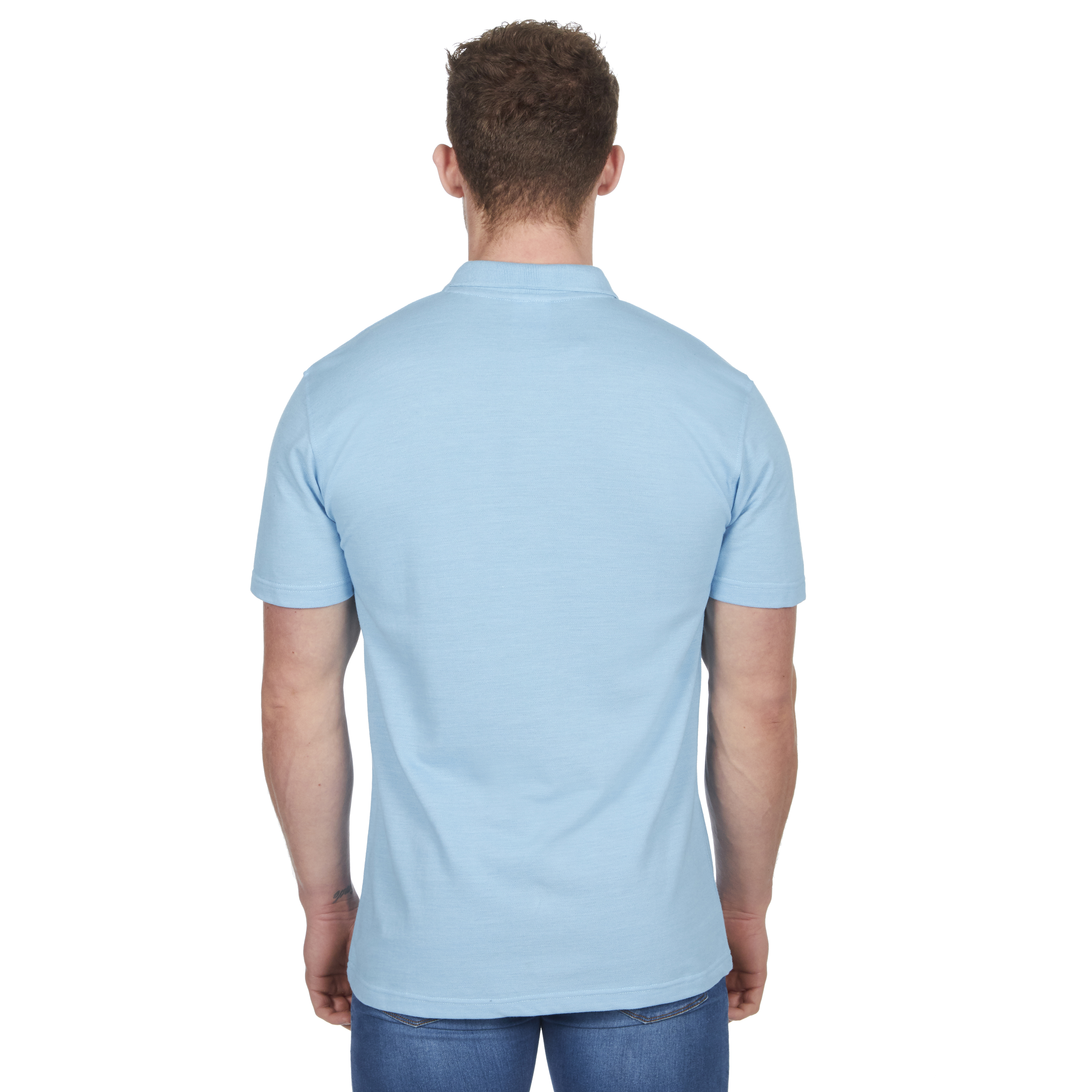 Mens-Classic-Polo-Top-Plus-Size-T-Shirt-Plain-Shirt-Big-And-Tall-Short-Sleeve thumbnail 50