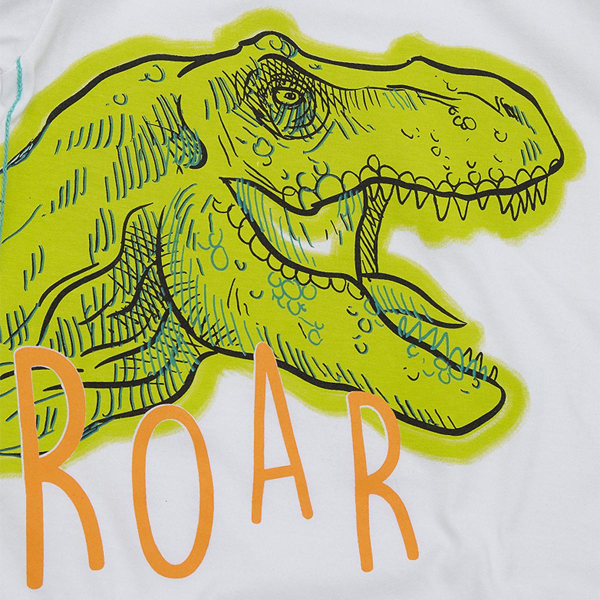 Boys Dinosaur Print T-Shirt /& Joggers Jog Pants Clothing Outfit Set Novelty NEW