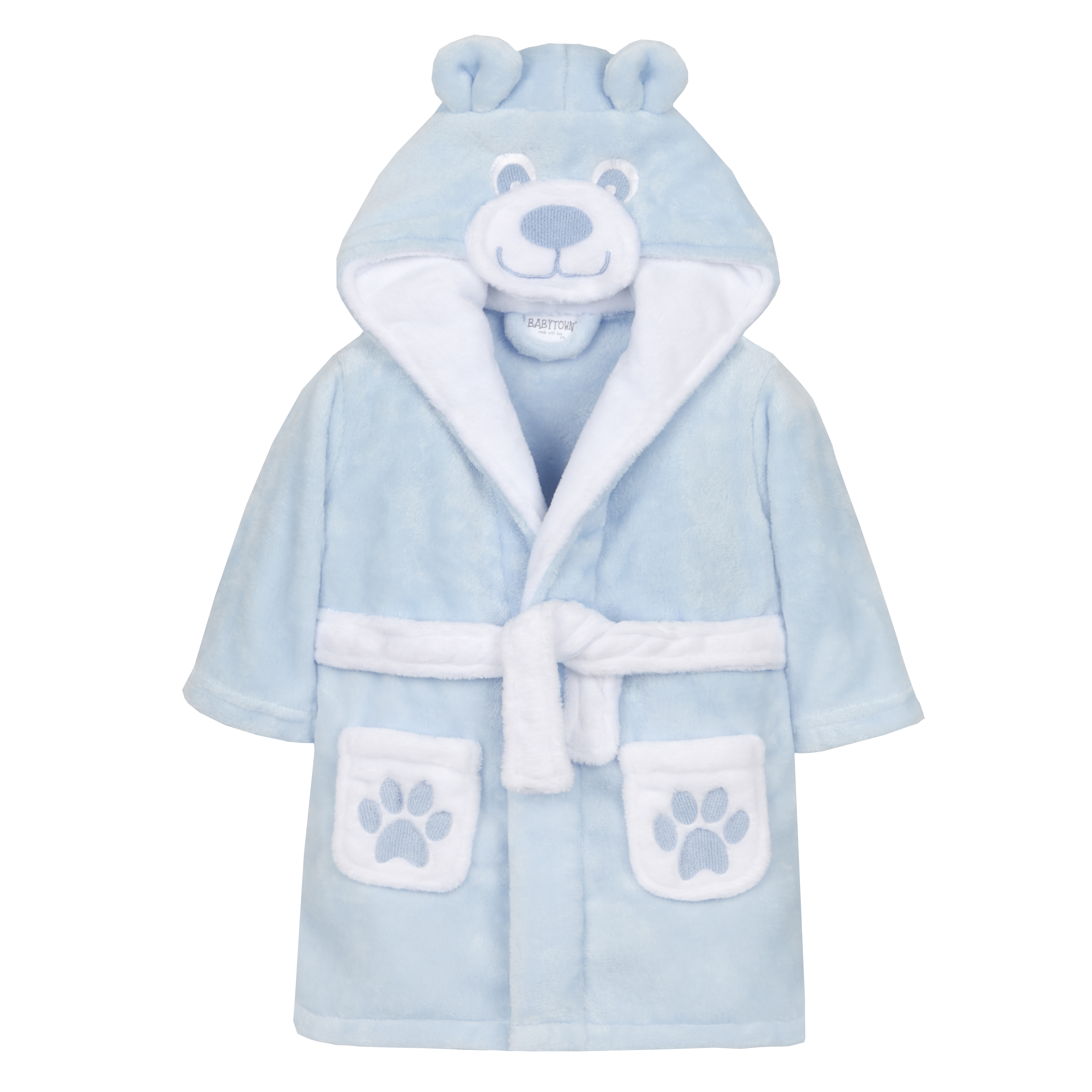 ce8fddca5e856 Details about Baby Girls & Boys Teddy Bear Dressing Gown Robe Novelty Plush  Fleece Unisex