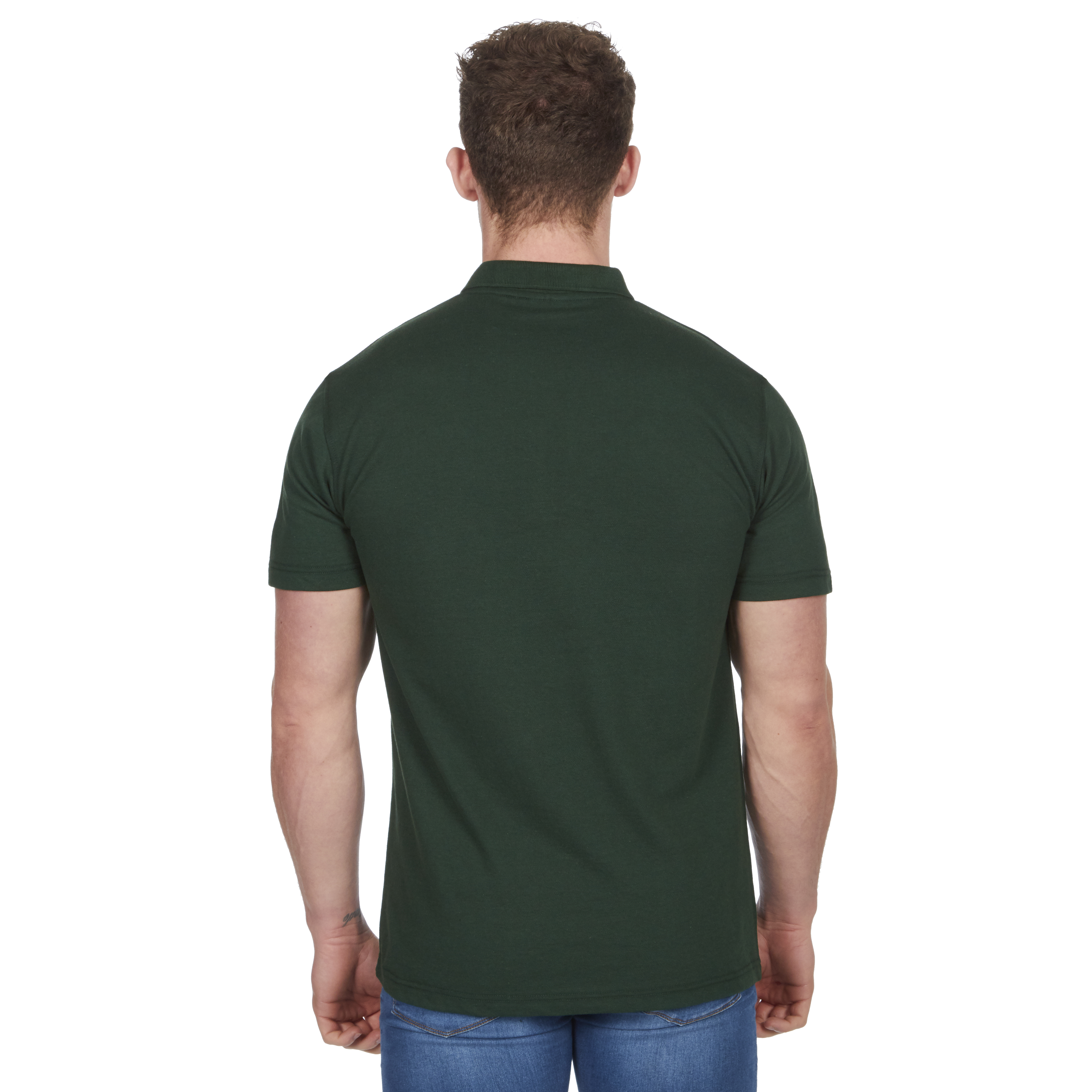 Mens-Classic-Polo-Top-Plus-Size-T-Shirt-Plain-Shirt-Big-And-Tall-Short-Sleeve thumbnail 25