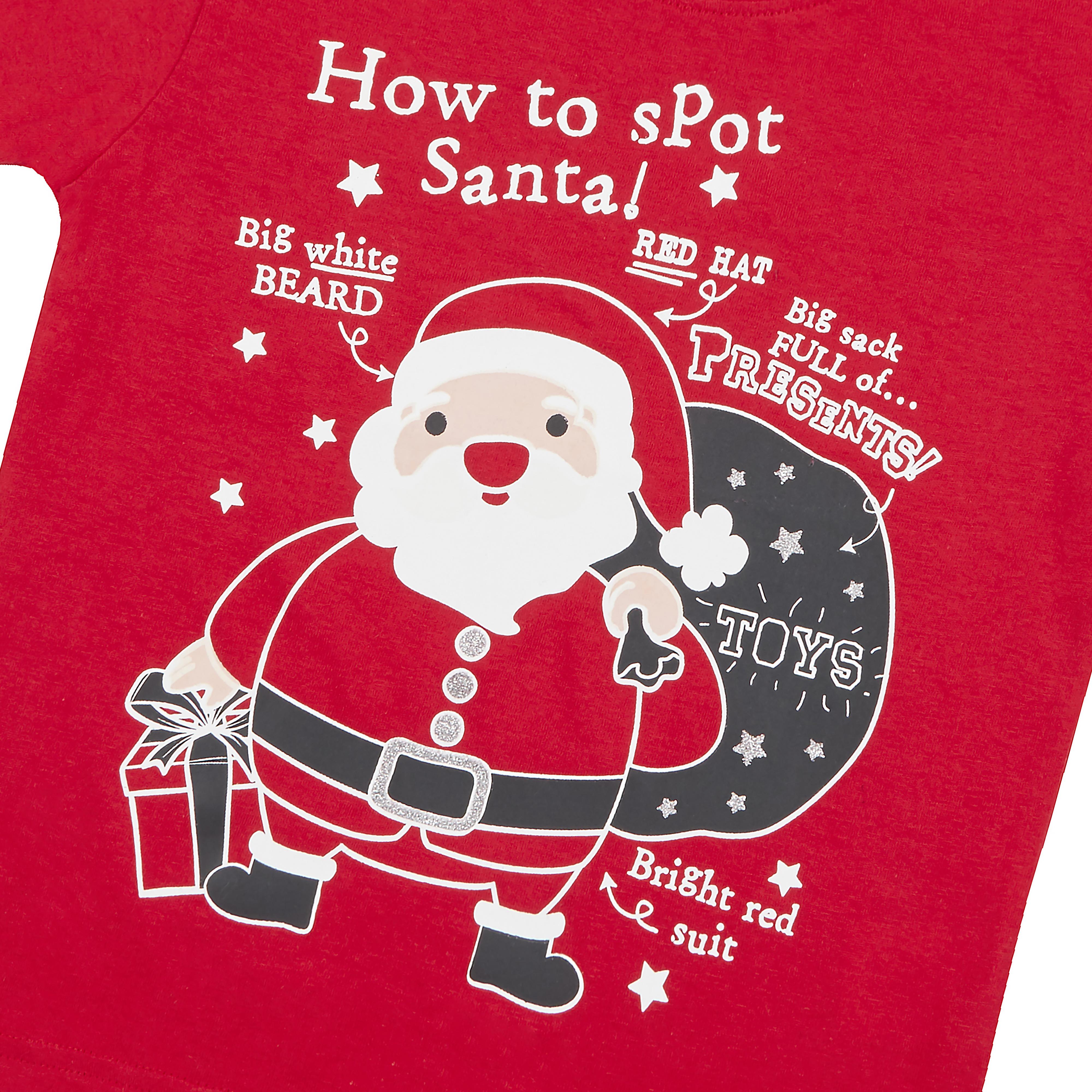 Childrens-Girls-Boys-Xmas-T-Shirts-Printed-Christmas-Design-100-Cotton-2-13-Yrs thumbnail 10