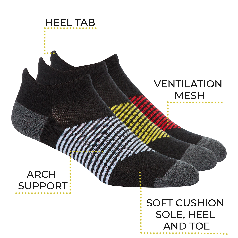 Mens 6-12 Pairs Sport Trainer Socks