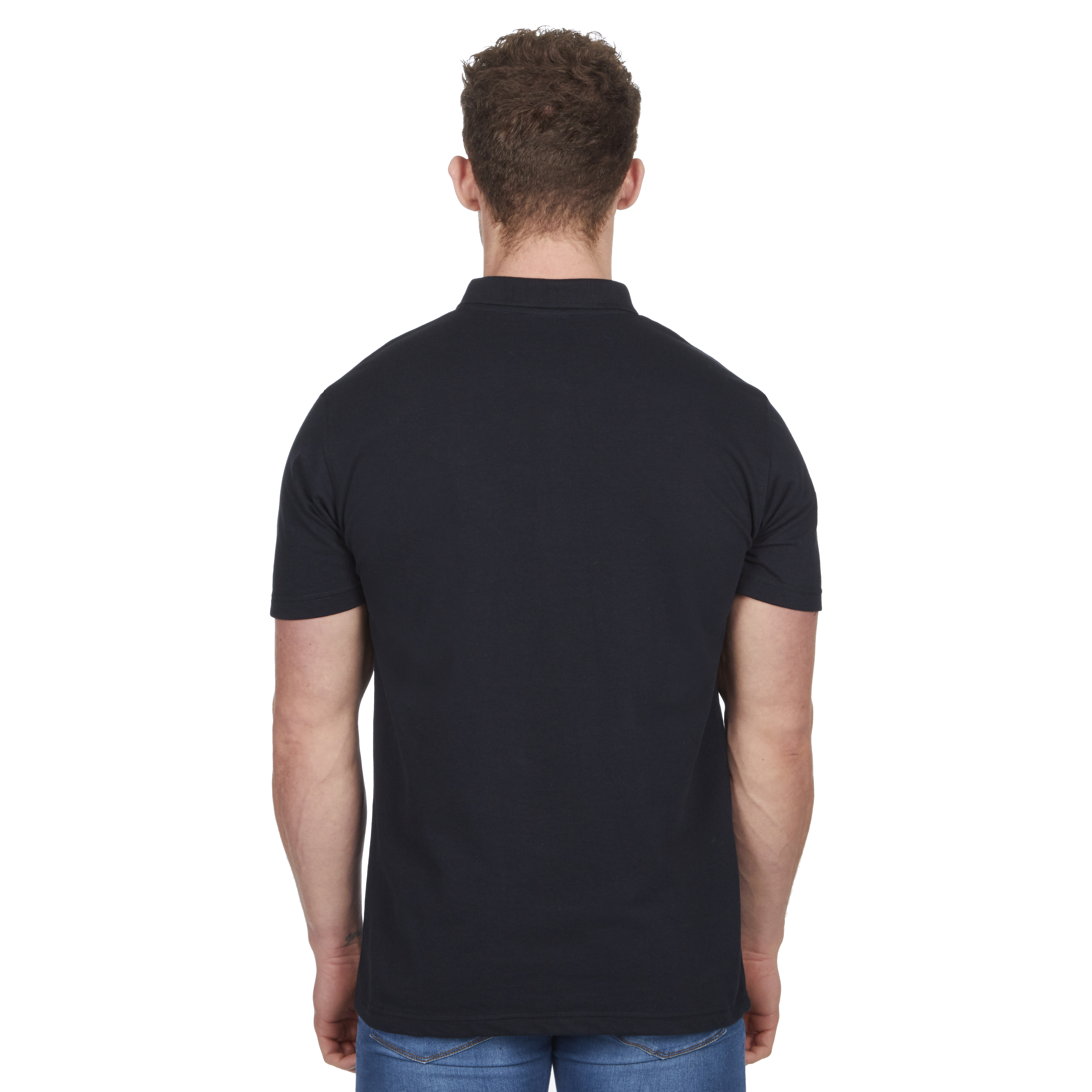 Mens-Classic-Polo-Top-Plus-Size-T-Shirt-Plain-Shirt-Big-And-Tall-Short-Sleeve thumbnail 14