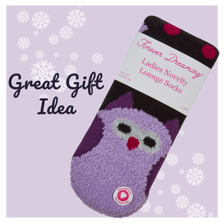 New Chunky Cable Knit Lounge Slipper Socks Womans Girls Non Slip Socks Gift Idea
