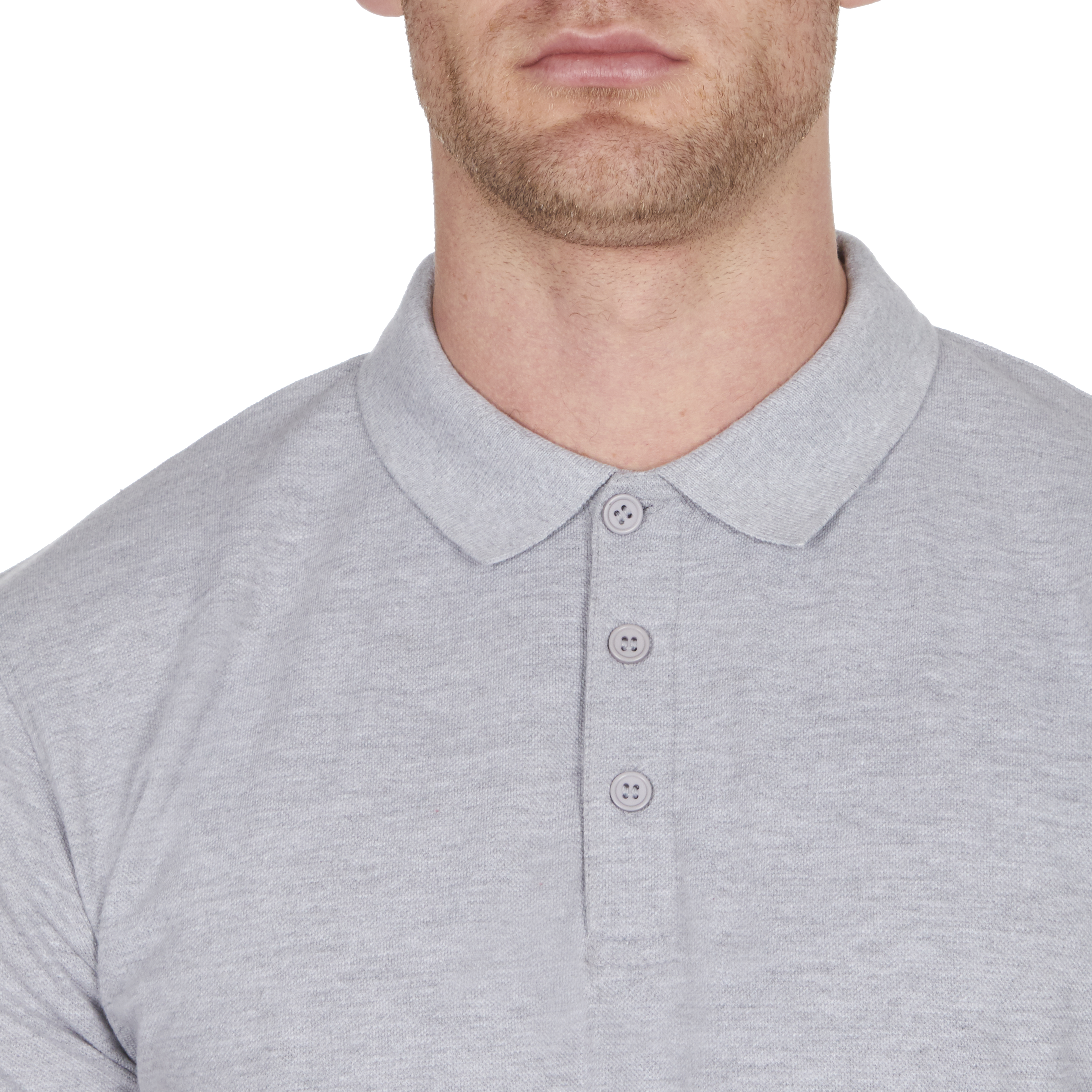Mens-Classic-Polo-Top-Plus-Size-T-Shirt-Plain-Shirt-Big-And-Tall-Short-Sleeve thumbnail 10