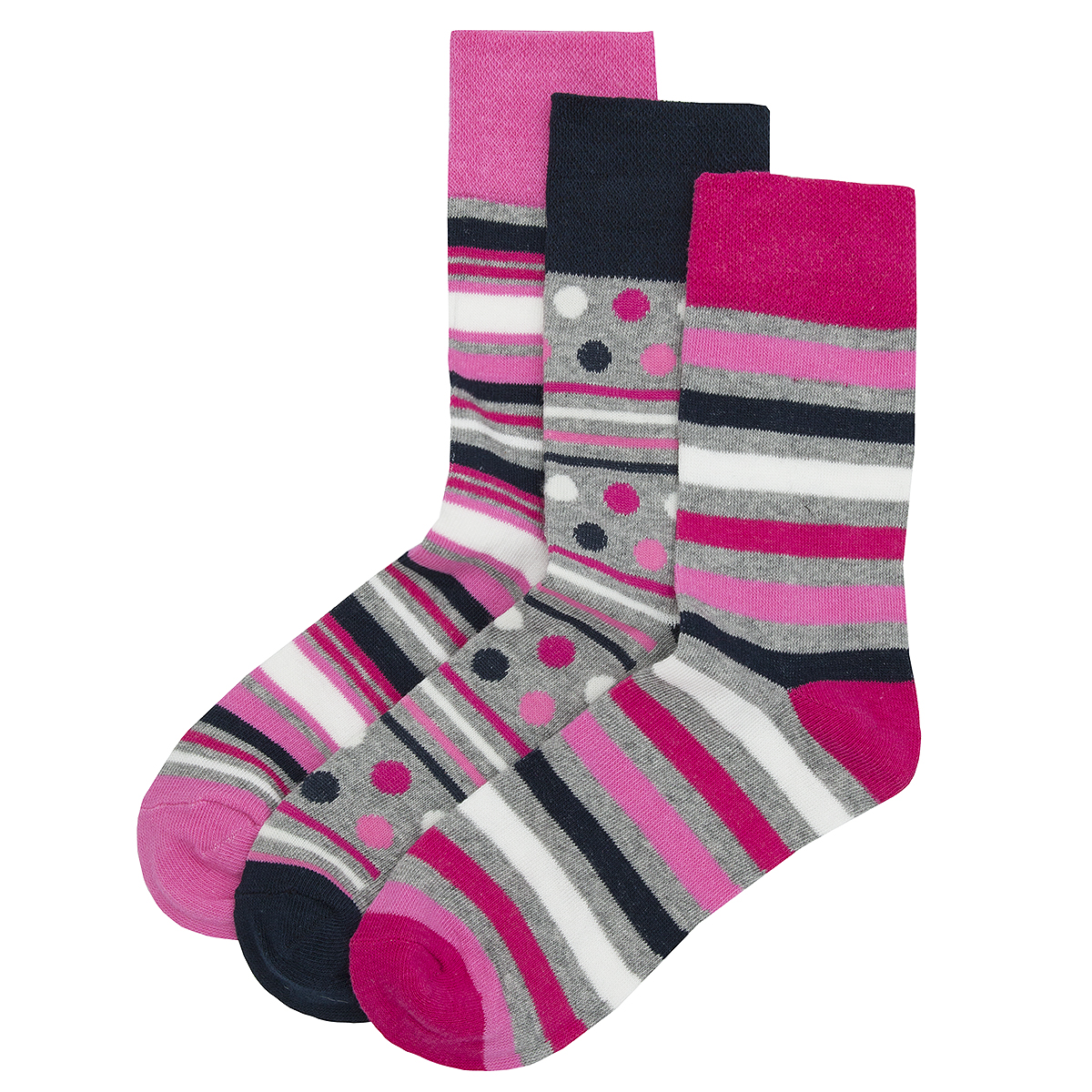 6-12-Pairs-Ladies-Womens-Non-Elastic-Loose-Top-Socks-Grip-Diabetic-Floral-New thumbnail 14
