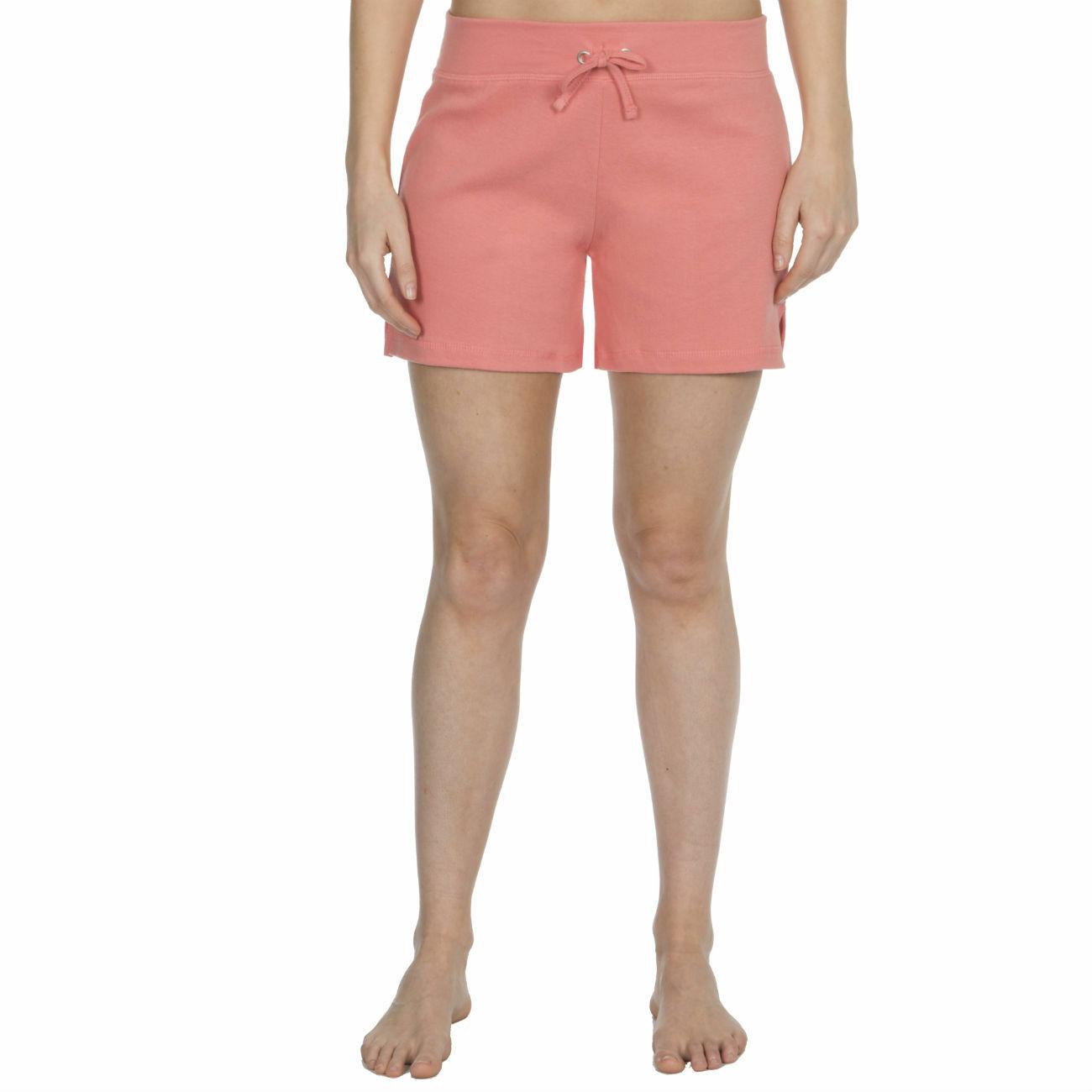 Womens-Cotton-Jersey-Shorts-Elastic-Waist-Summer-Beach-Casual-Yoga-Hot-Pants-New thumbnail 35