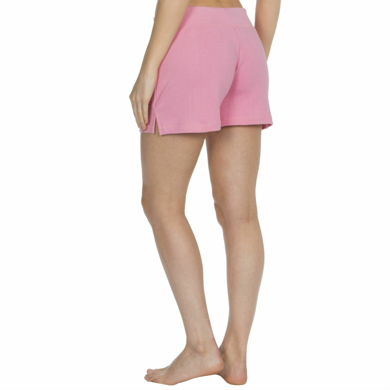 Womens-Cotton-Jersey-Shorts-Elastic-Waist-Summer-Beach-Casual-Yoga-Hot-Pants-New thumbnail 18