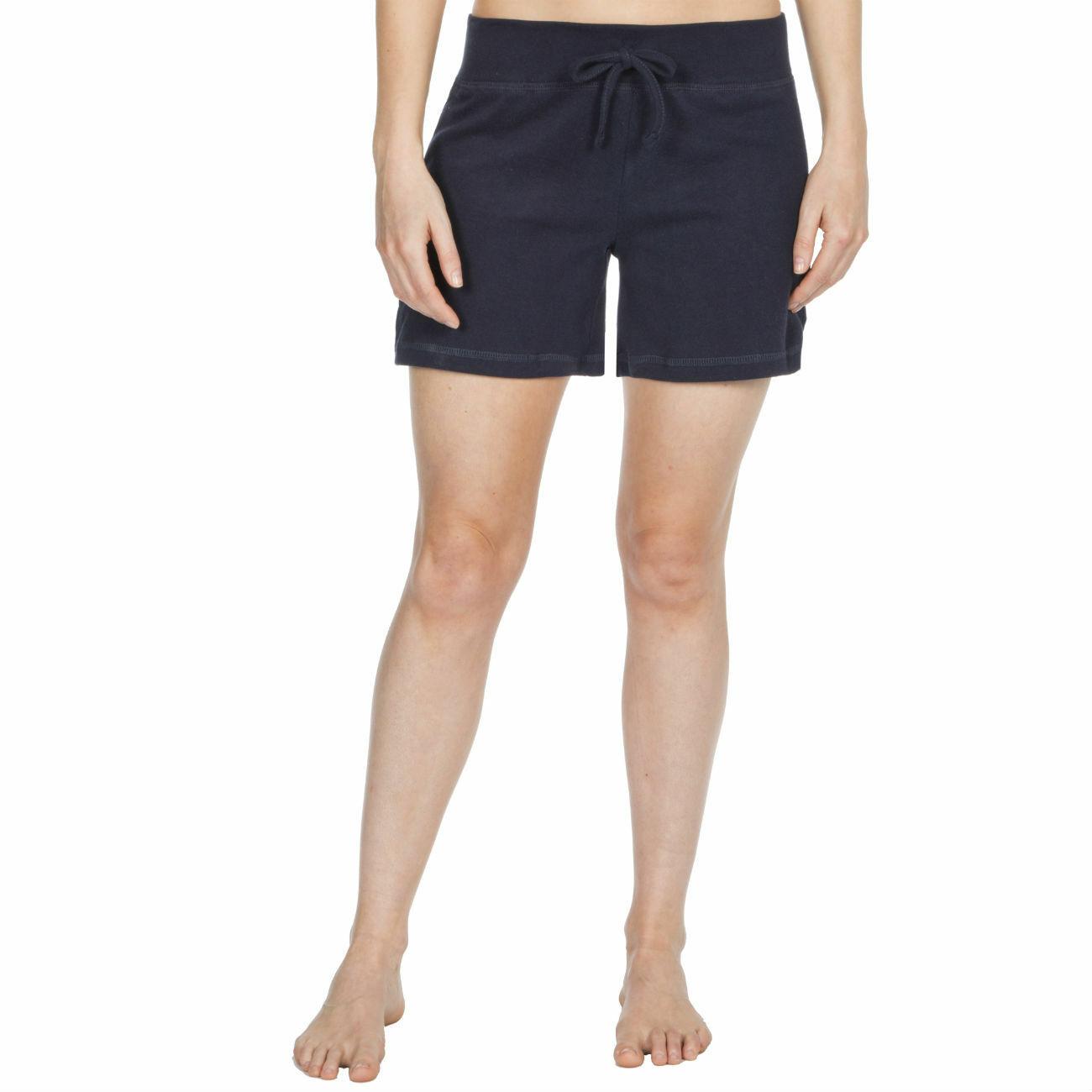 Womens-Cotton-Jersey-Shorts-Elastic-Waist-Summer-Beach-Casual-Yoga-Hot-Pants-New thumbnail 12